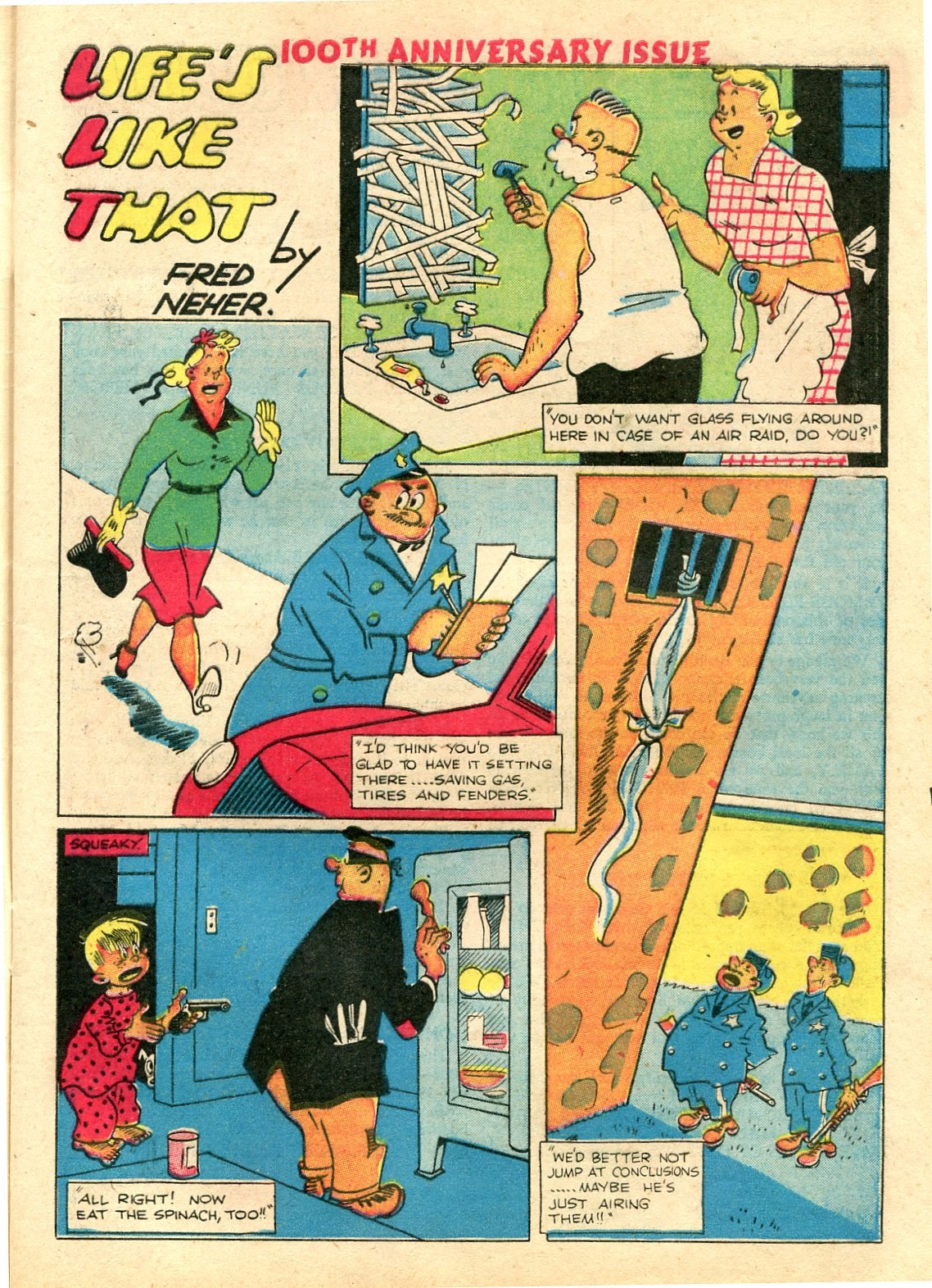 Read online Famous Funnies comic -  Issue #100 - 9