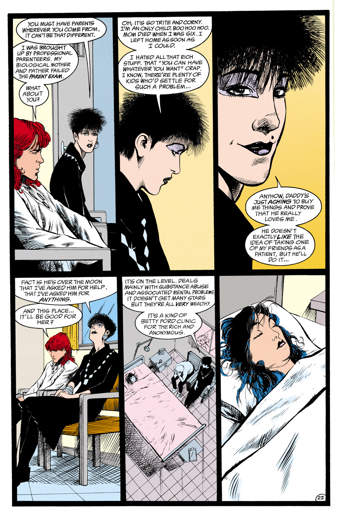 Read online Shade, the Changing Man comic -  Issue #13 - 23
