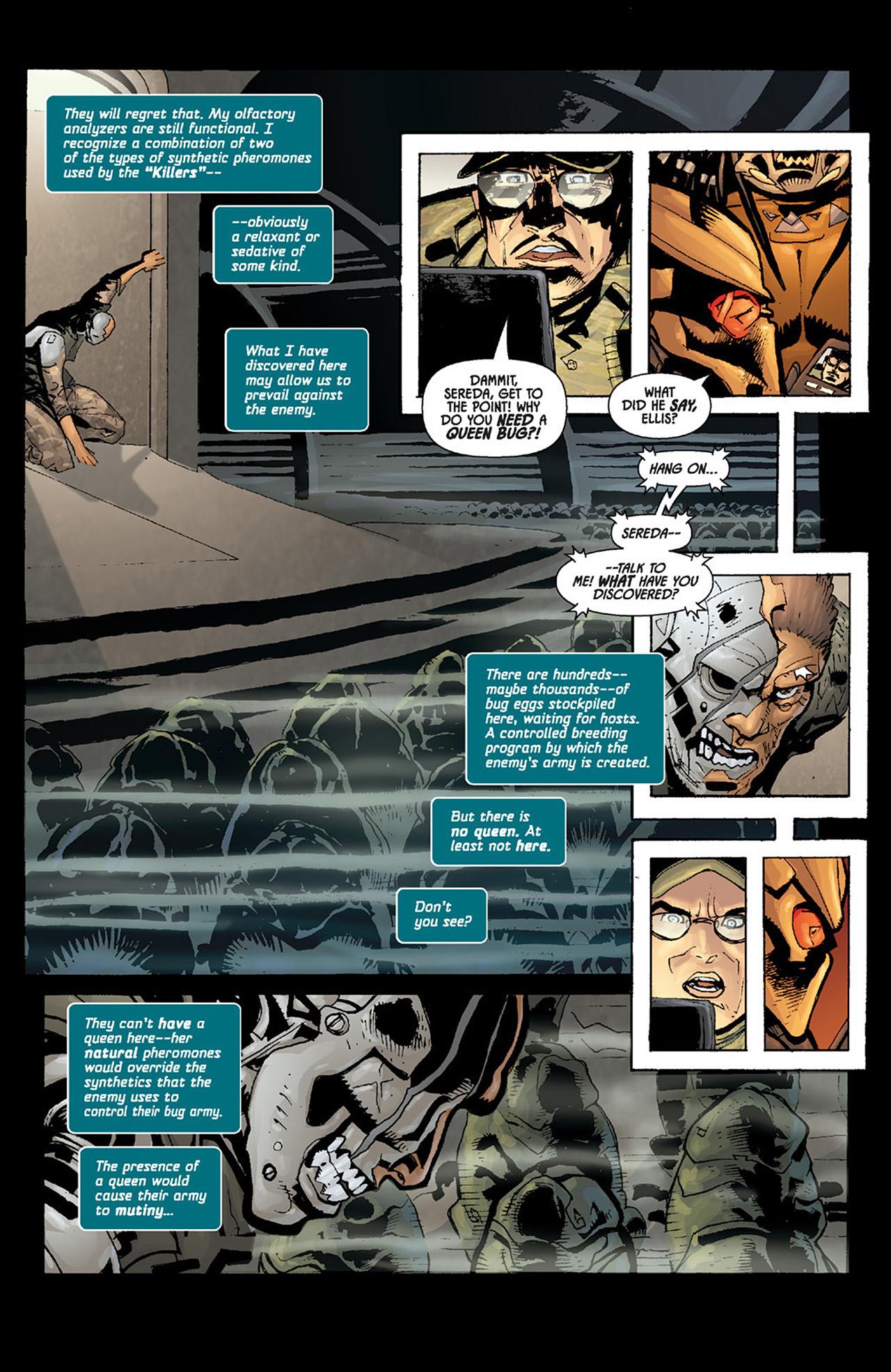 Read online Aliens vs. Predator: Three World War comic -  Issue #6 - 5