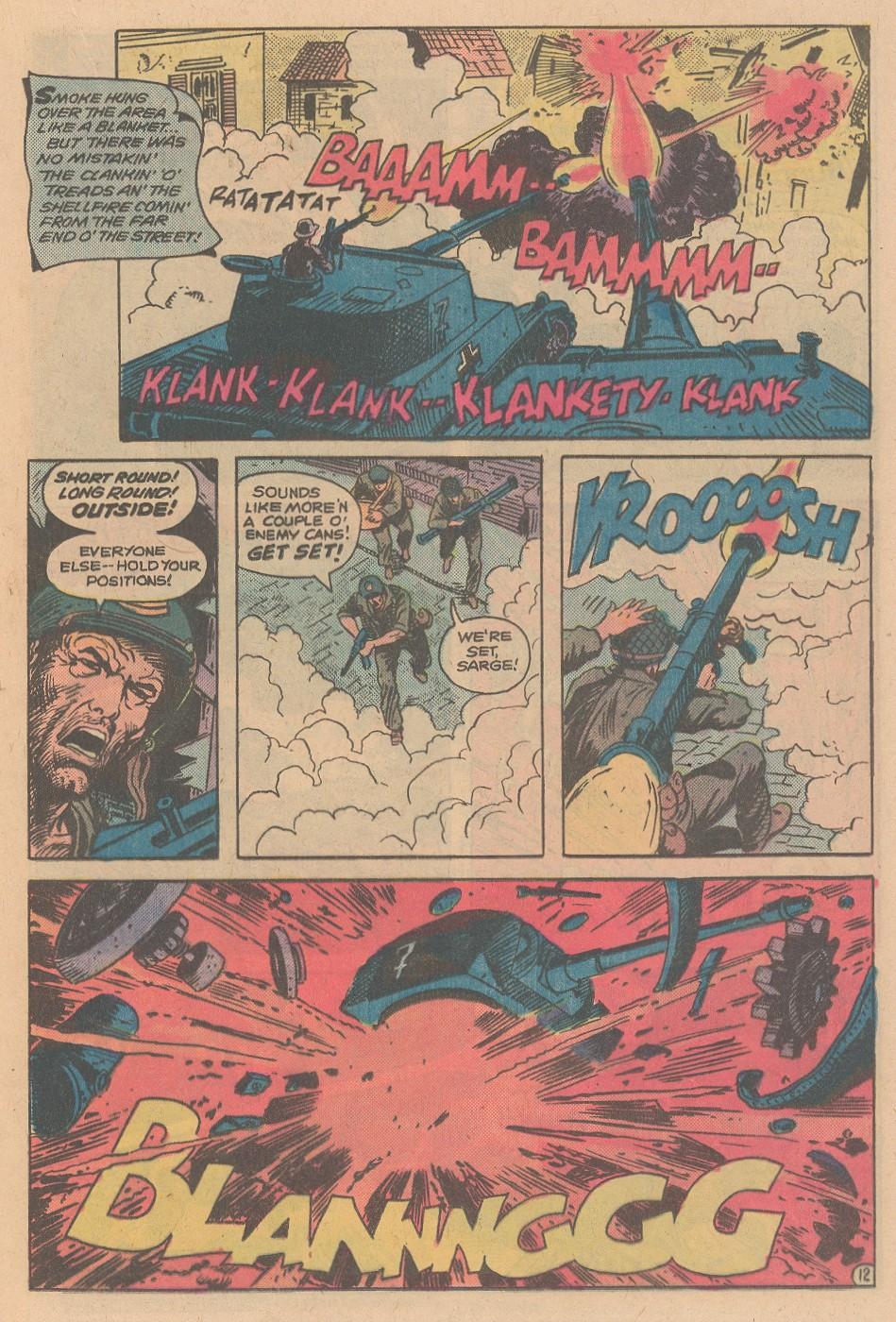 Read online Sgt. Rock comic -  Issue #348 - 13
