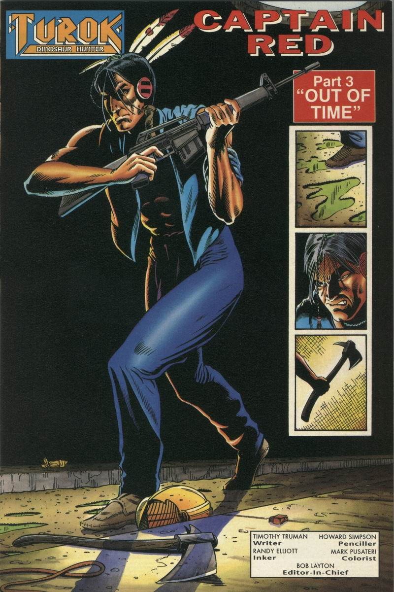 Read online Turok, Dinosaur Hunter (1993) comic -  Issue #15 - 2