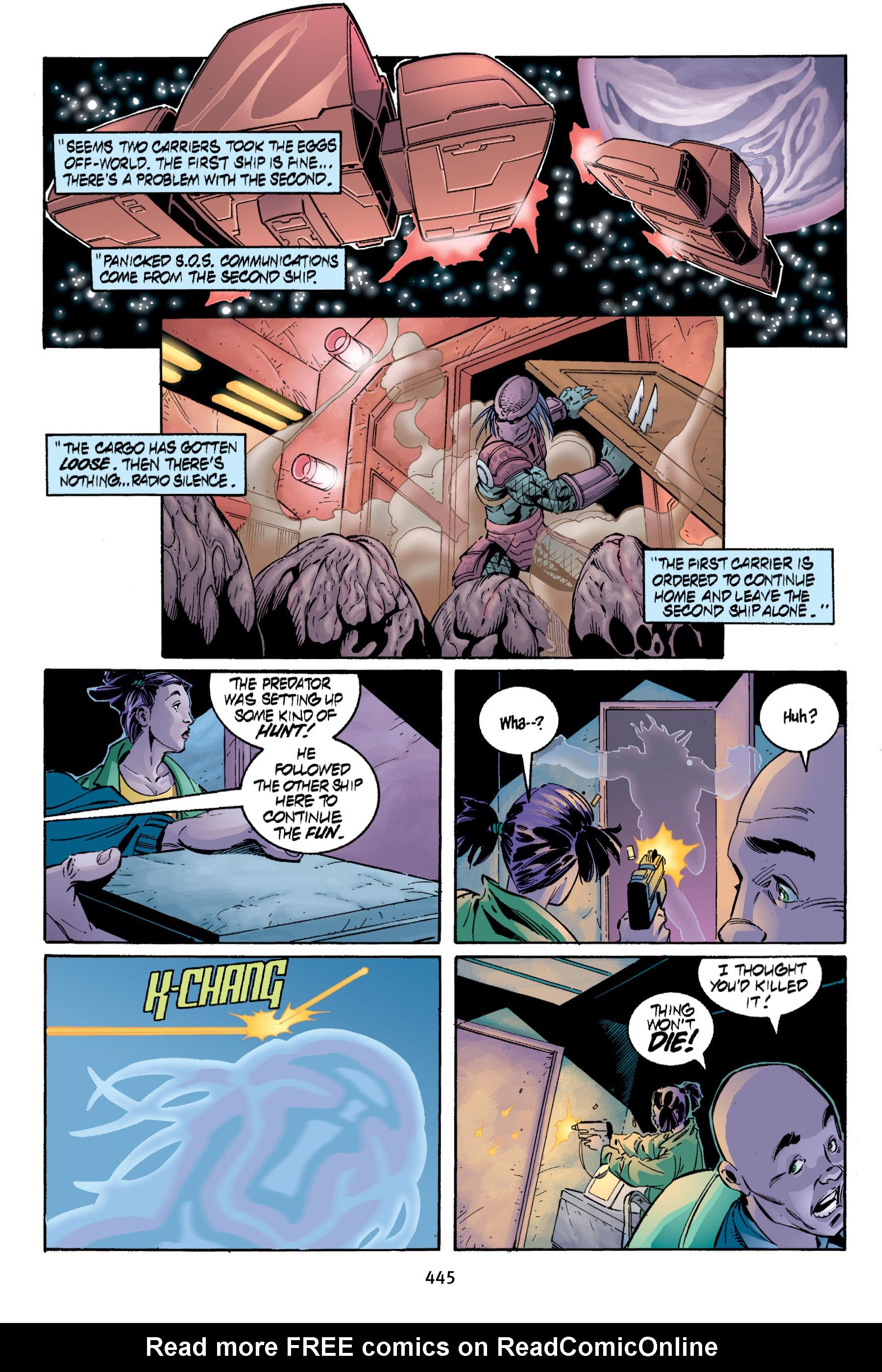 Read online Aliens vs. Predator Omnibus comic -  Issue # _TPB 2 Part 4 - 107