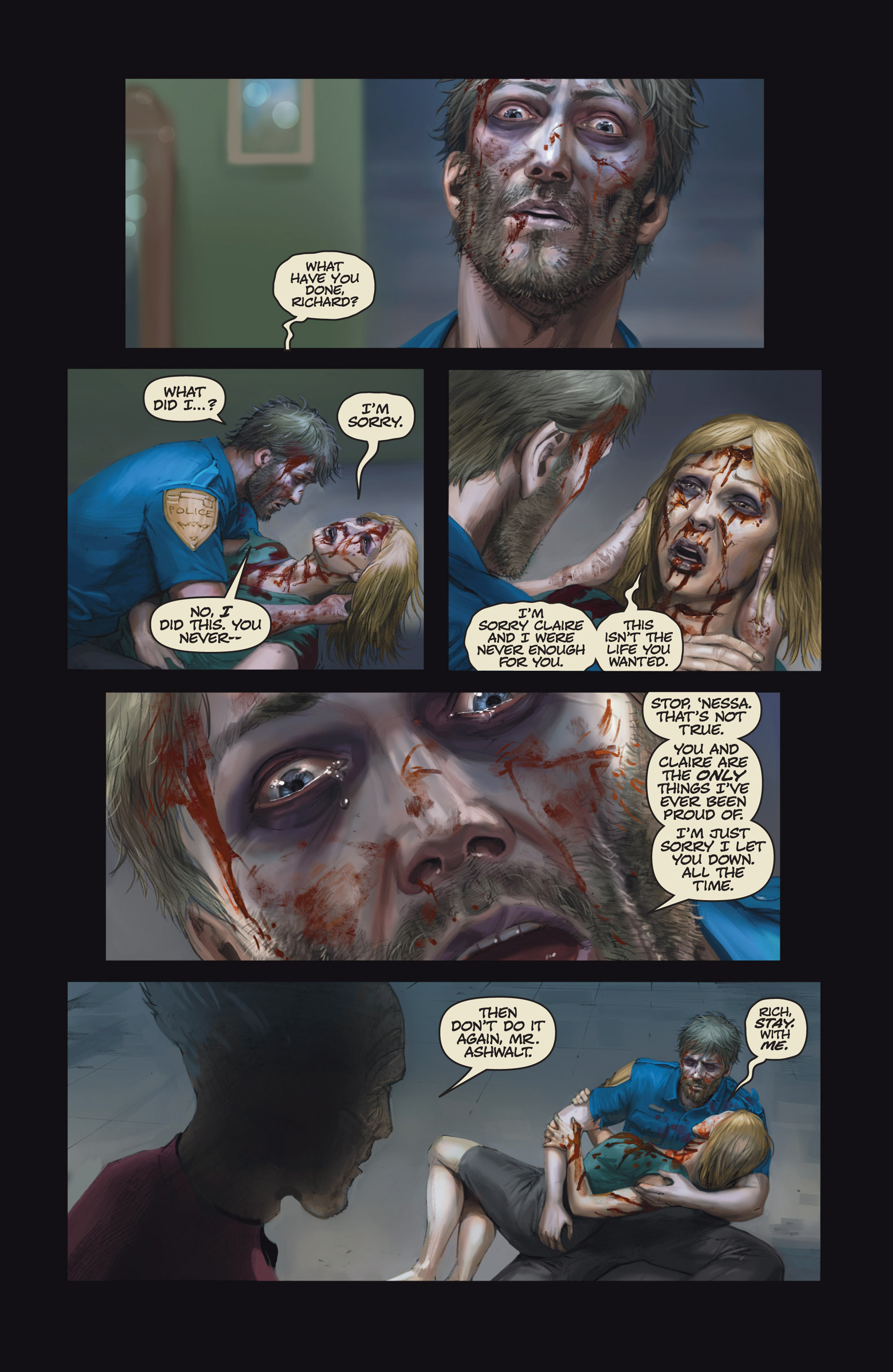 Read online Abattoir comic -  Issue #6 - 12