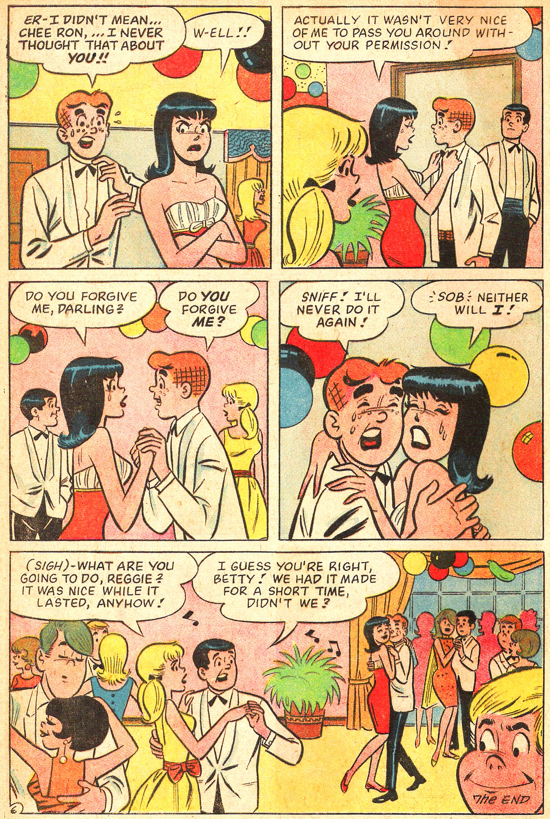 Read online Archie's Girls Betty and Veronica comic -  Issue #134 - 8
