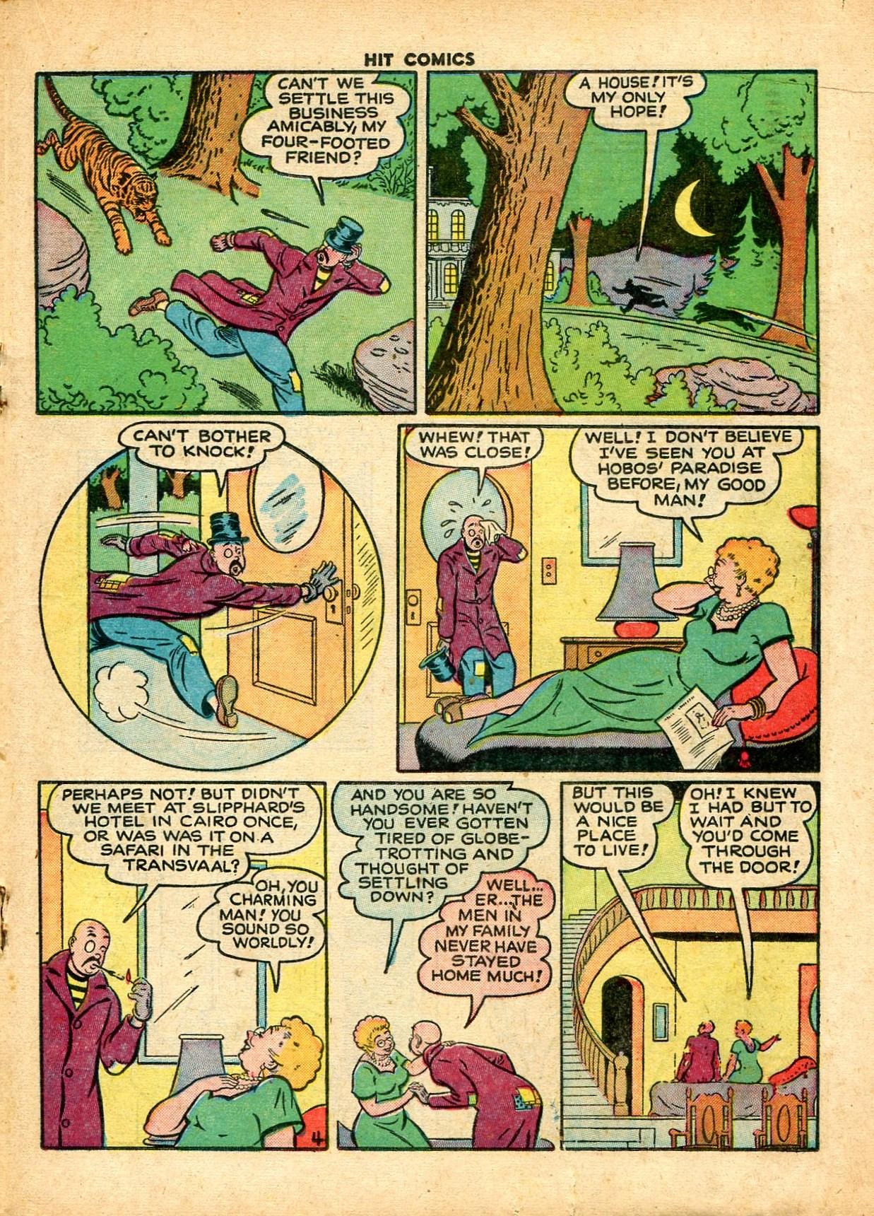 Read online Hit Comics comic -  Issue #59 - 19