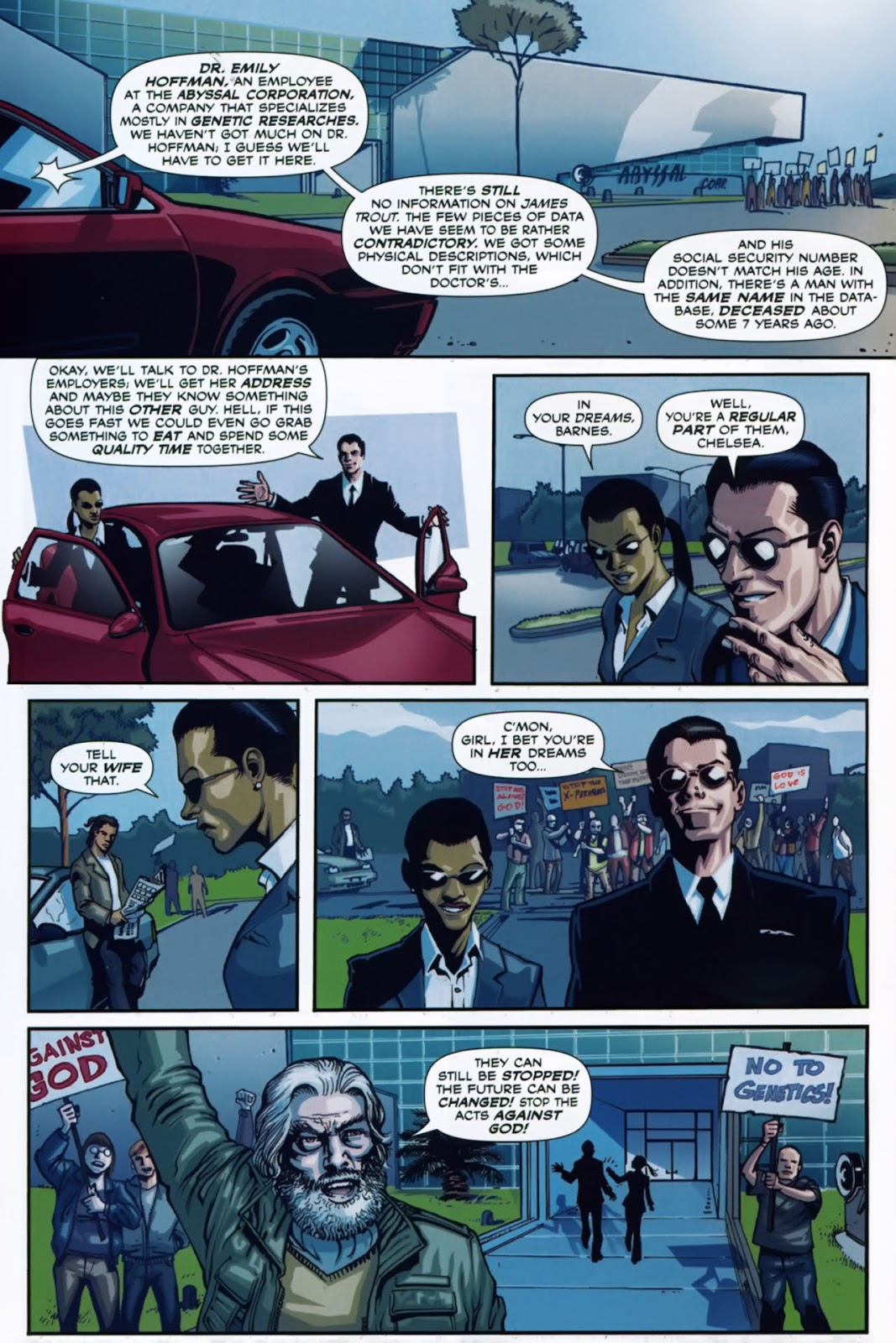 Read online Lazarus (2007) comic -  Issue #1 - 12