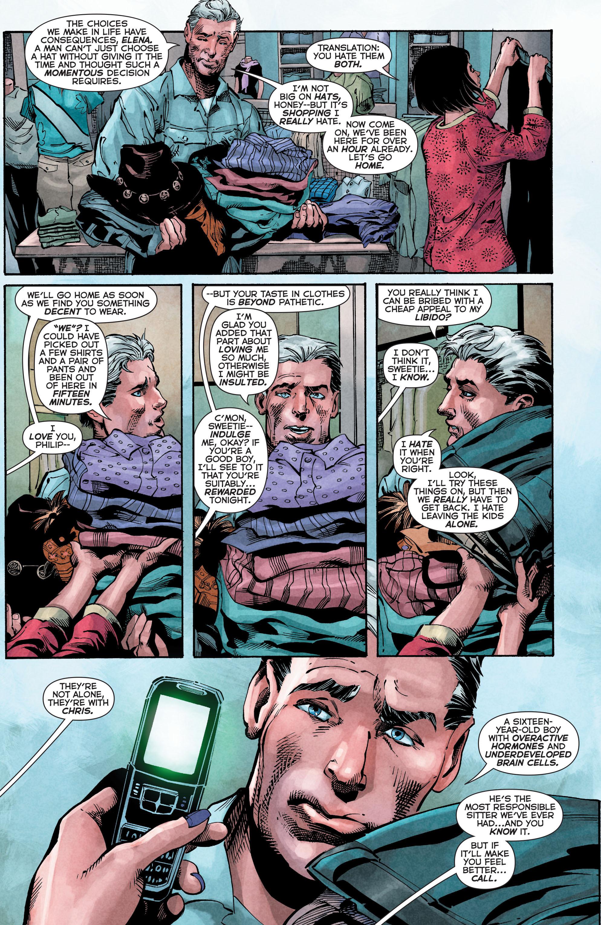 Read online Trinity of Sin: The Phantom Stranger comic -  Issue #4 - 4