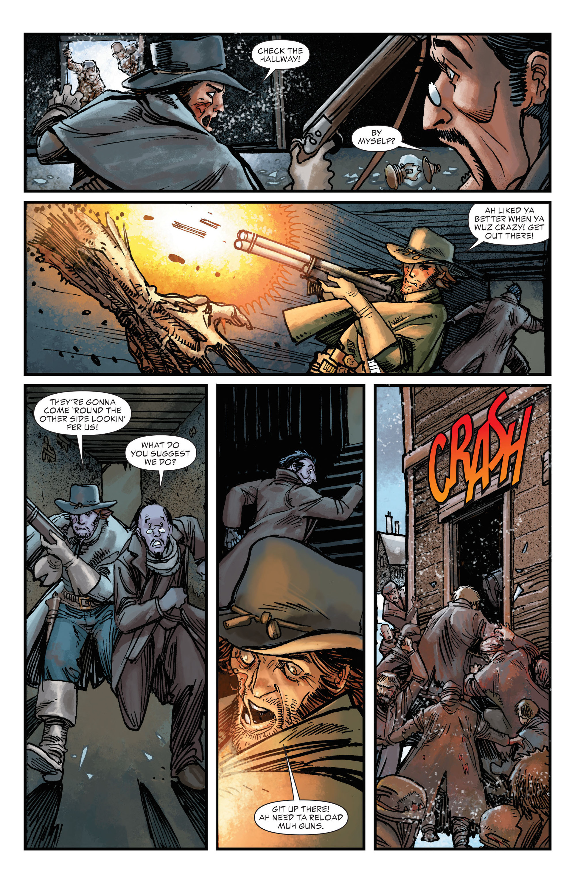 Read online All-Star Western (2011) comic -  Issue #17 - 16