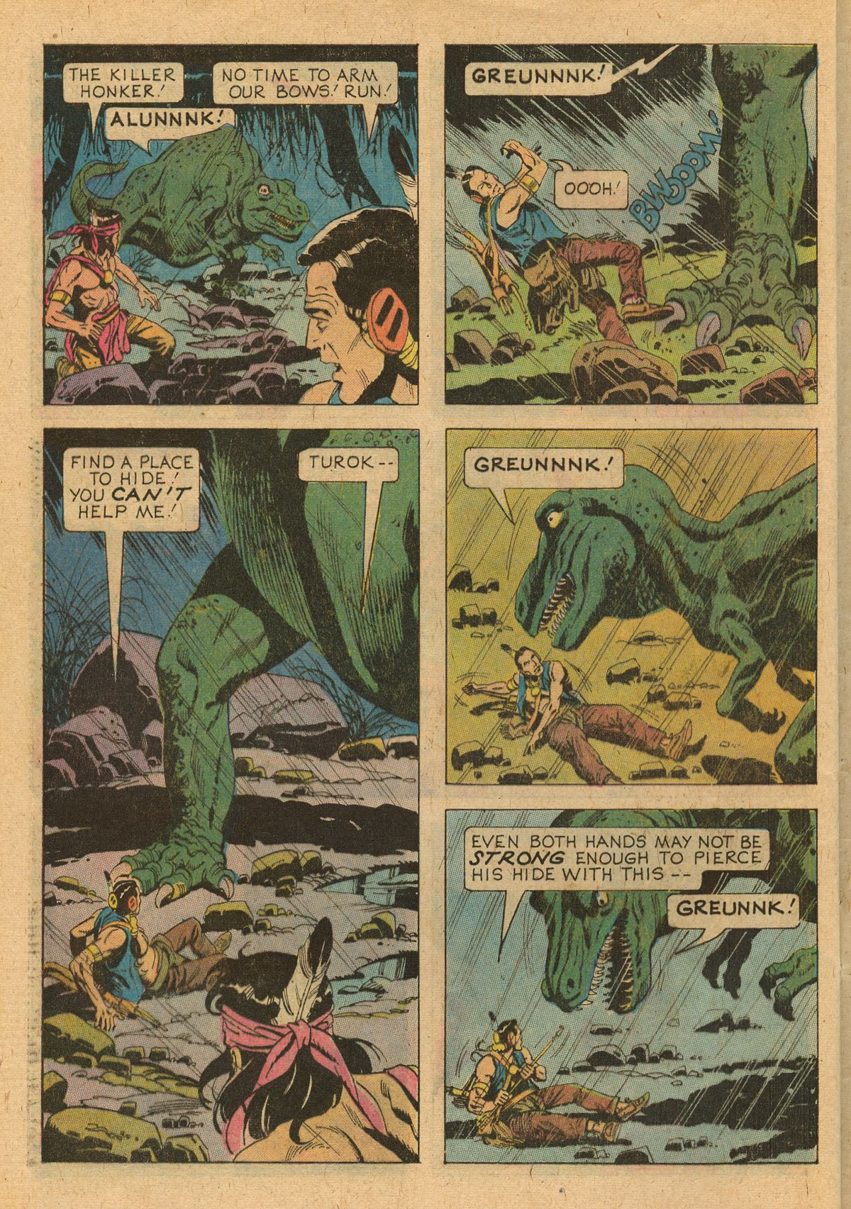Read online Turok, Son of Stone comic -  Issue #107 - 28
