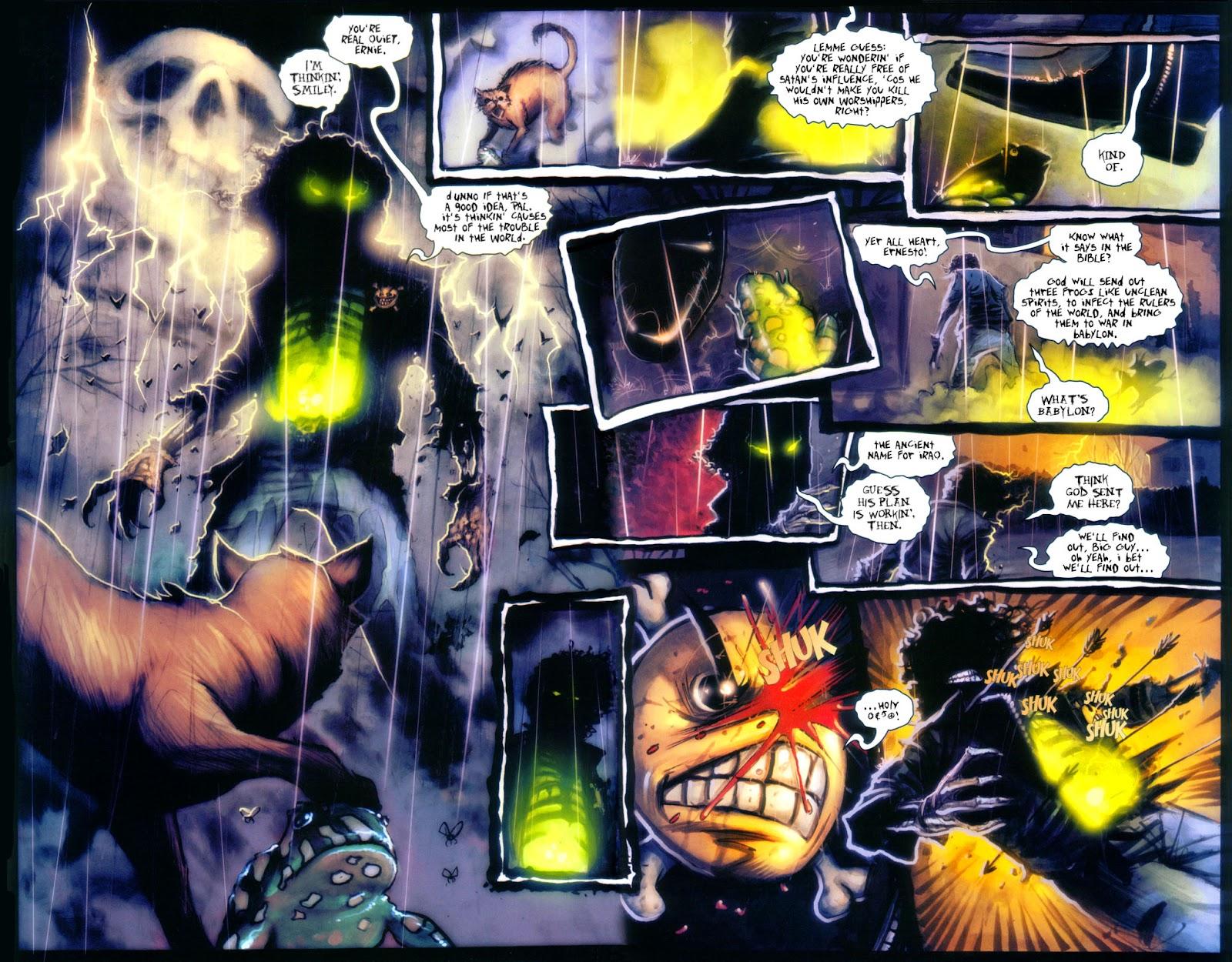 Read online Evil Ernie in Santa Fe comic -  Issue #2 - 7