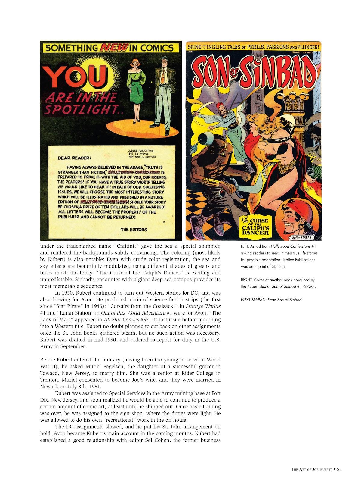 Read online The Art of Joe Kubert comic -  Issue # TPB (Part 1) - 50