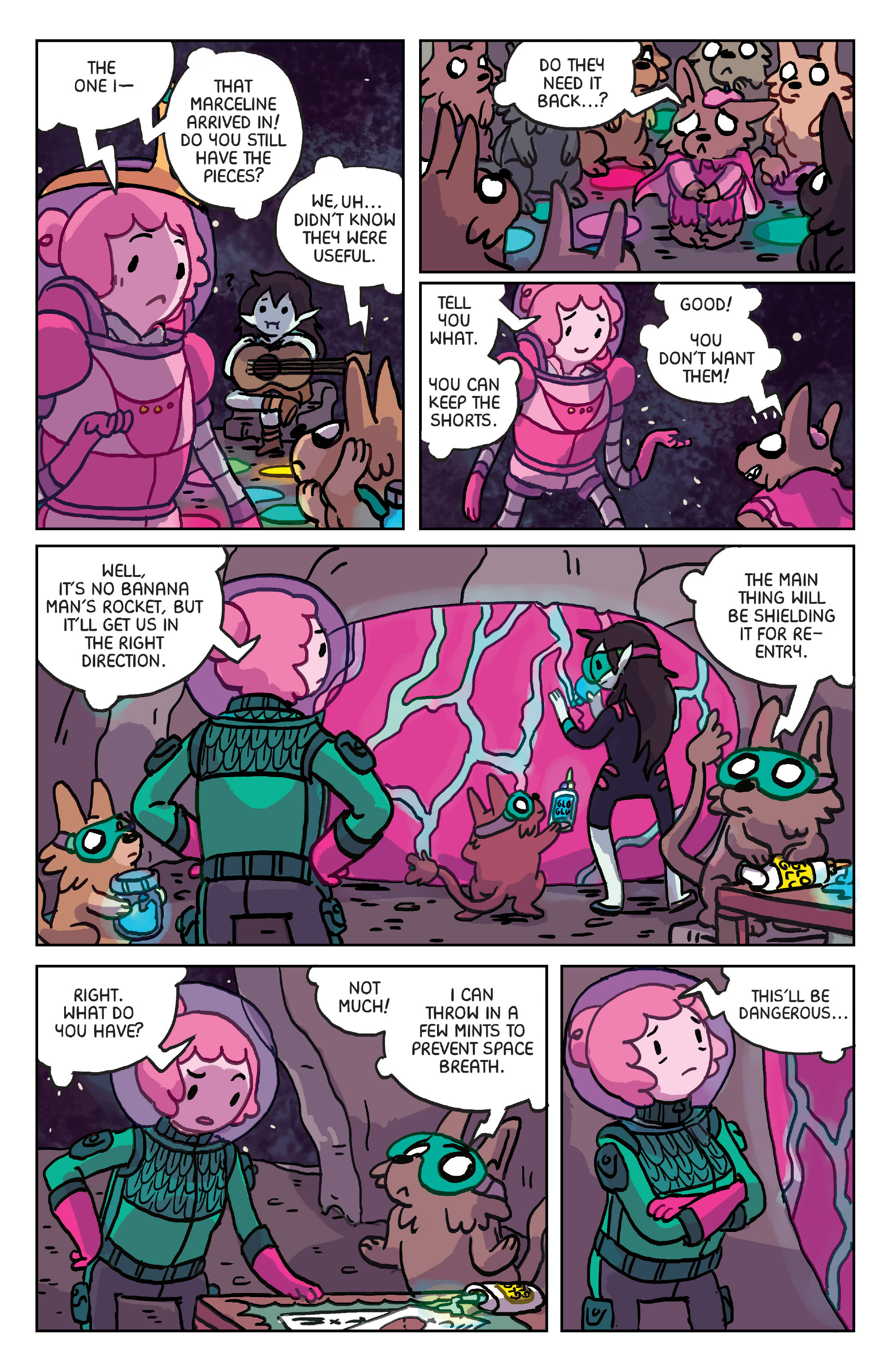 Read online Adventure Time: Marceline Gone Adrift comic -  Issue #6 - 10