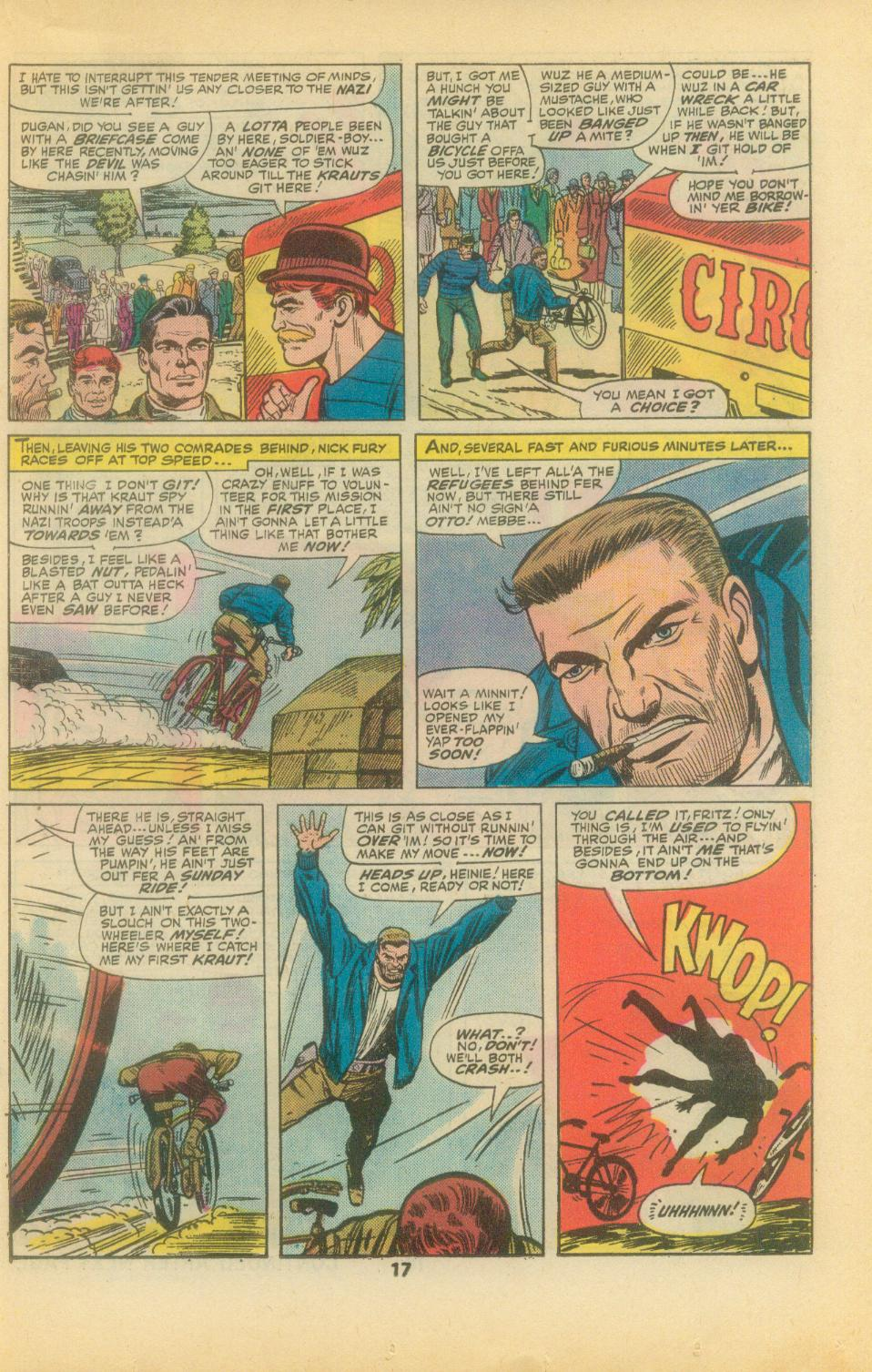 Read online Sgt. Fury comic -  Issue #136 - 19