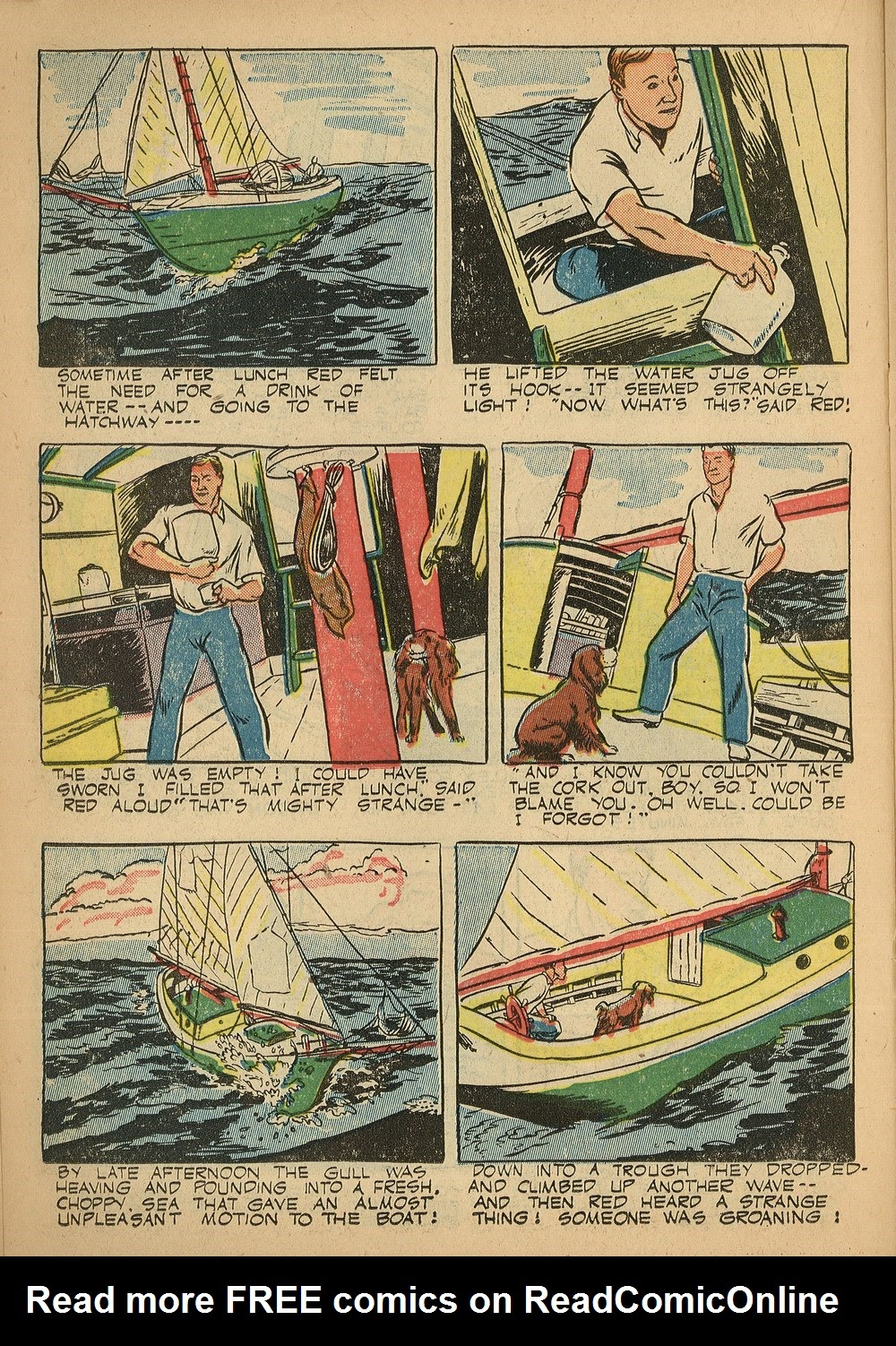 Read online Animal Comics comic -  Issue #24 - 30