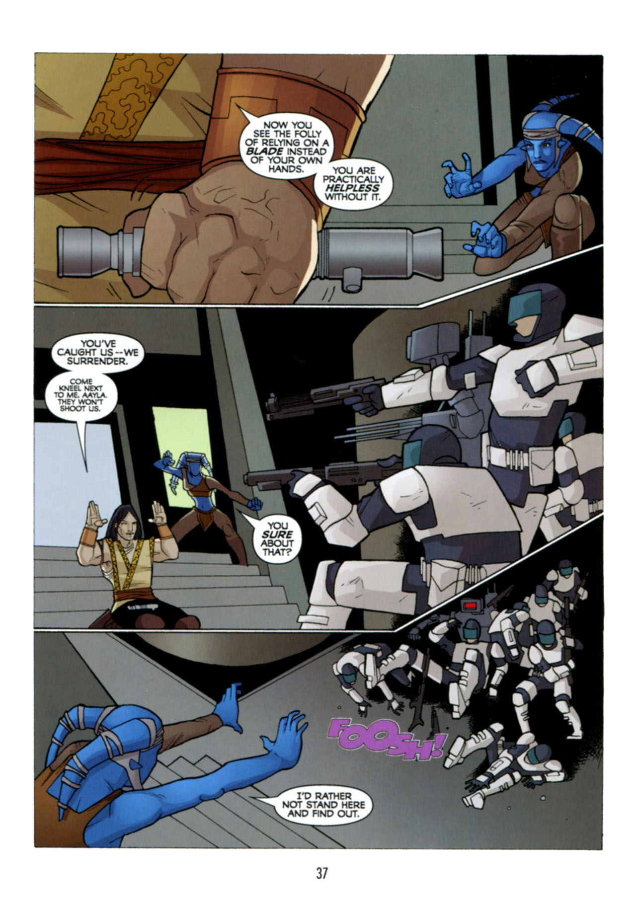 Read online Star Wars: The Clone Wars - Deadly Hands of Shon-Ju comic -  Issue # Full - 38