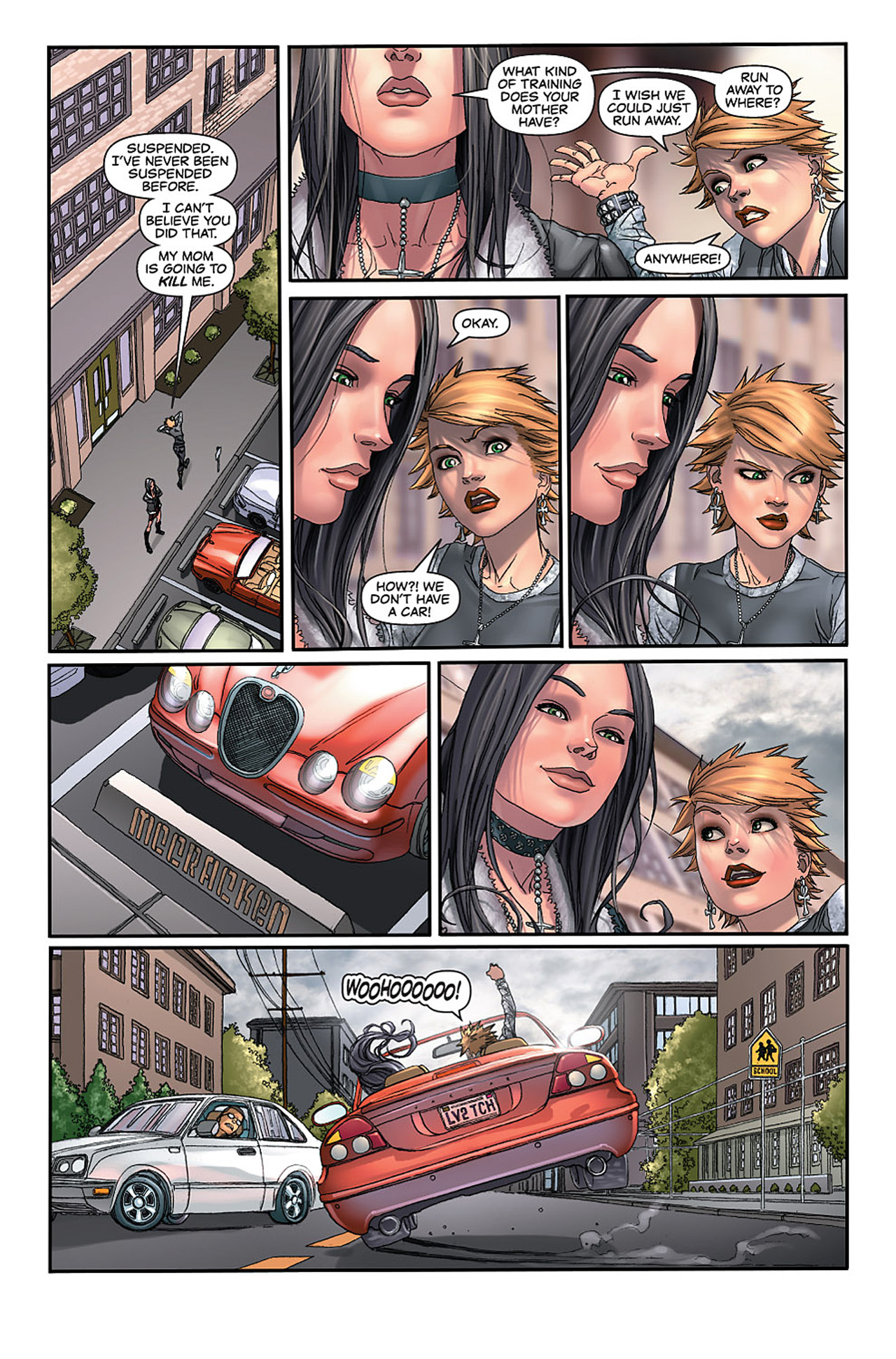 Read online X-23: Target X comic -  Issue #2 - 18