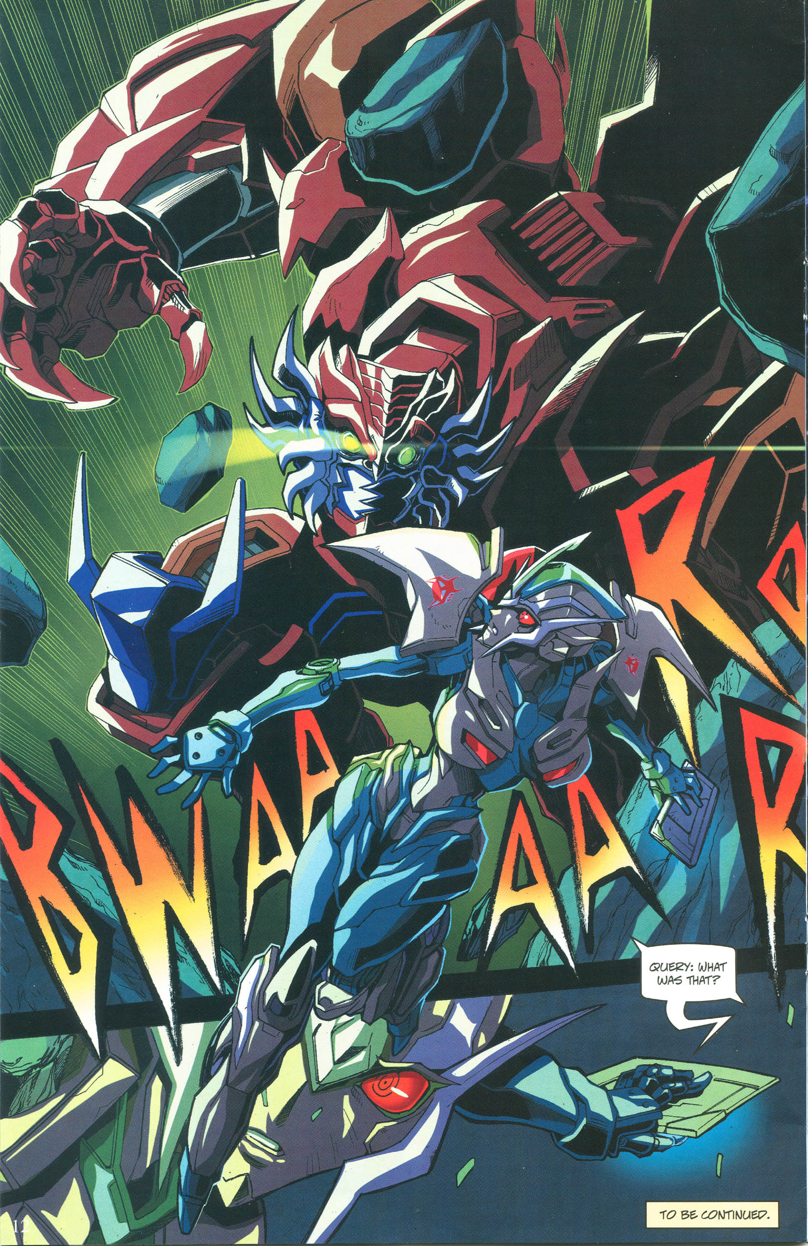 Read online Transformers: Collectors' Club comic -  Issue #57 - 12