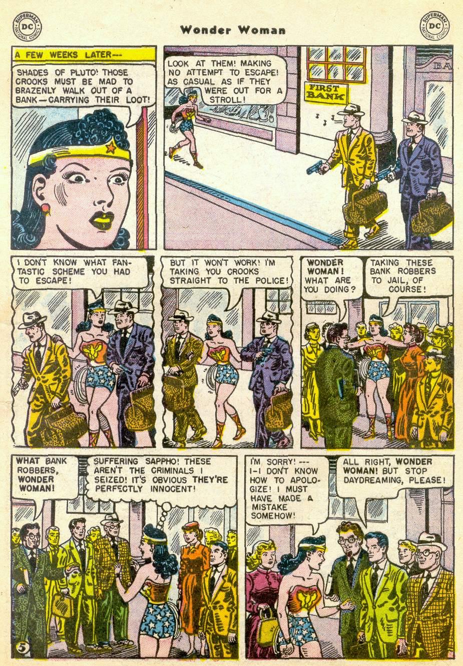 Read online Wonder Woman (1942) comic -  Issue #76 - 29