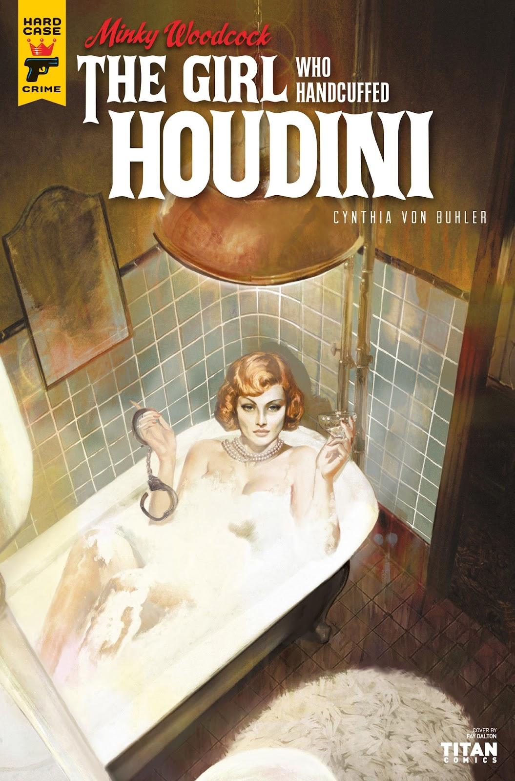 Minky Woodcock: The Girl who Handcuffed Houdini issue 2 - Page 1