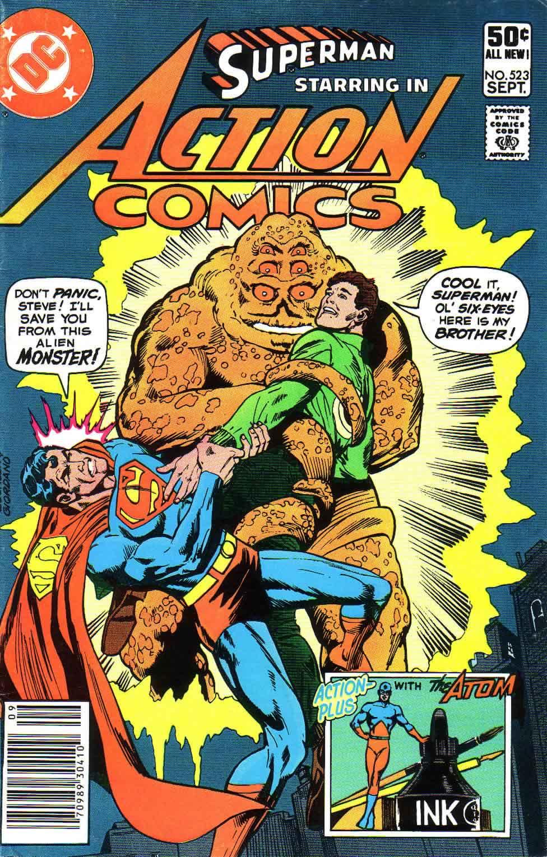 Action Comics (1938) 523 Page 1