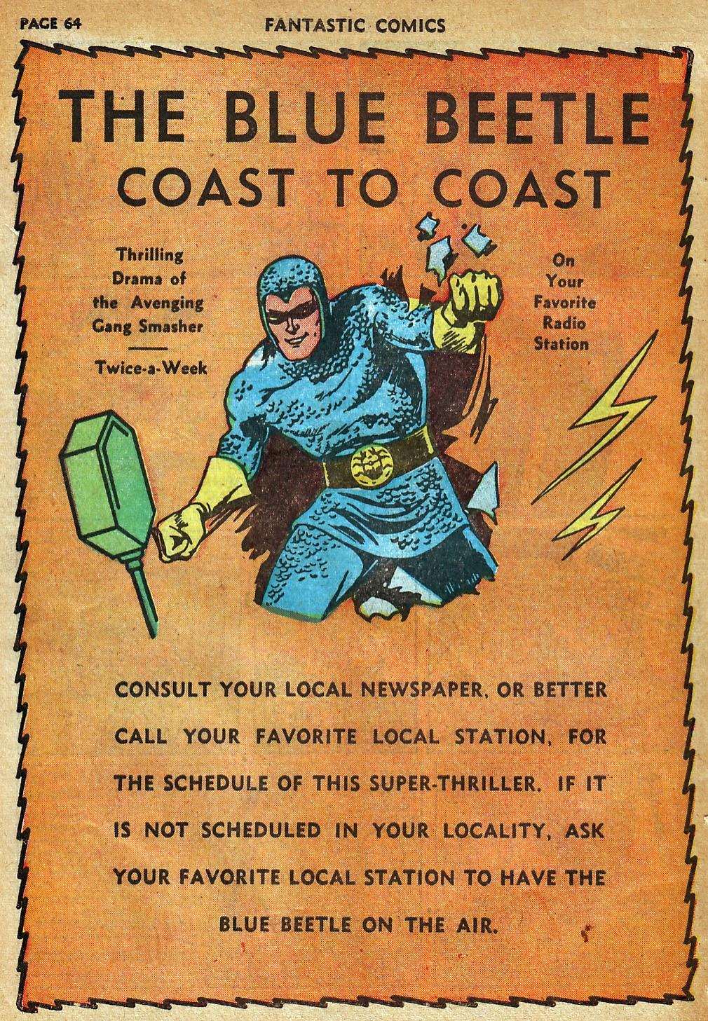 Read online Fantastic Comics comic -  Issue #22 - 65
