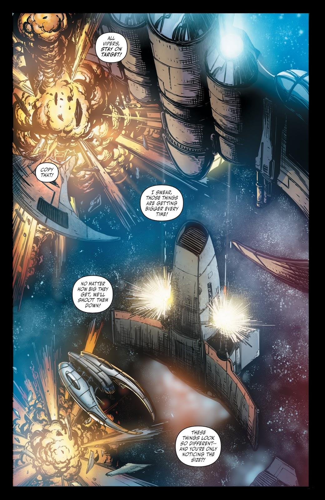 Battlestar Galactica BSG vs. BSG issue 1 - Page 21