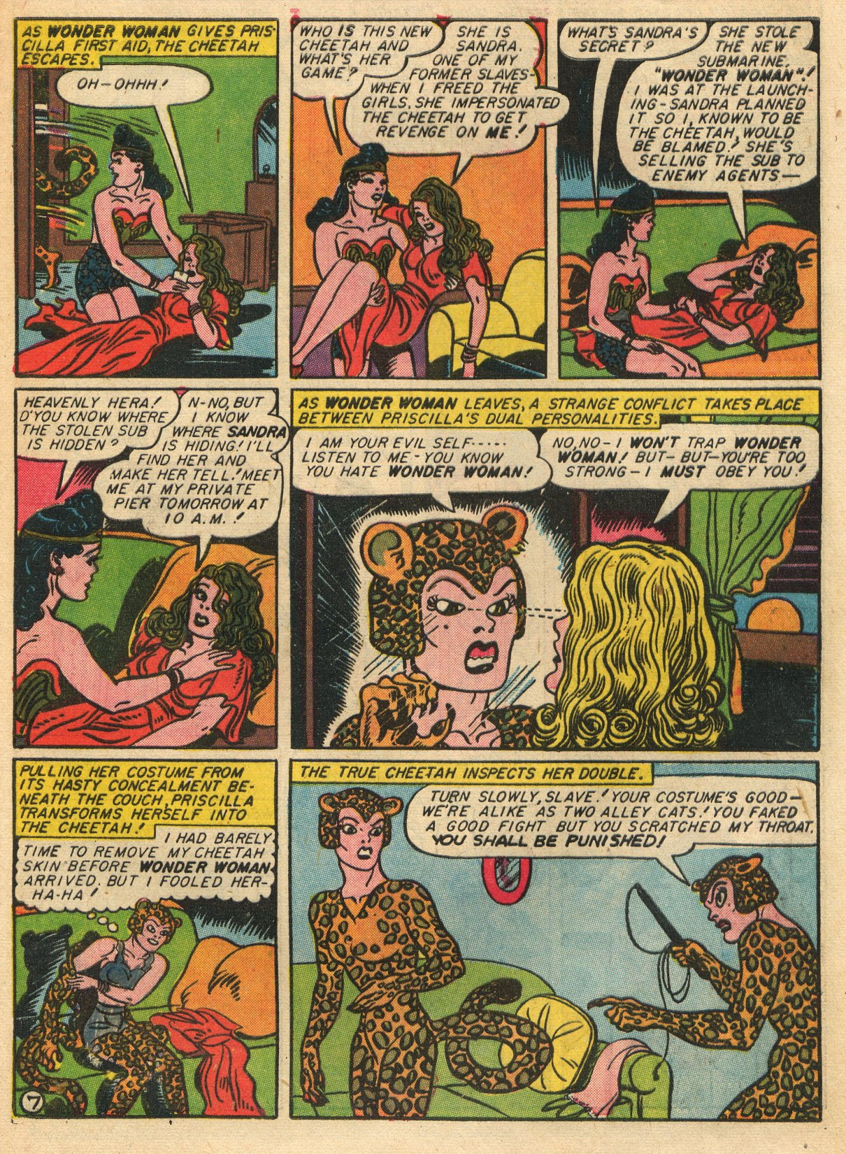 Read online Sensation (Mystery) Comics comic -  Issue #22 - 9