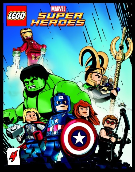 LEGO Marvel Super Heroes 4 Page 1