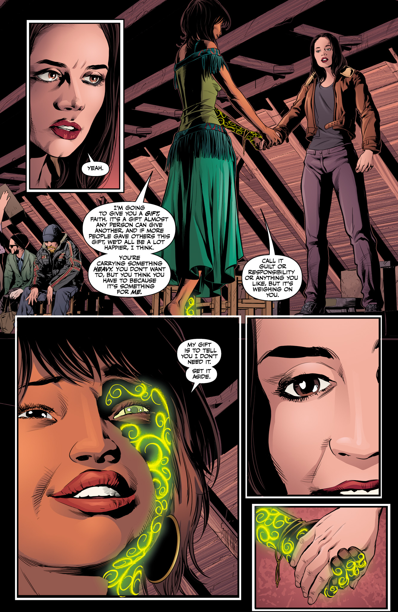 Read online Angel & Faith Season 10 comic -  Issue #11 - 21