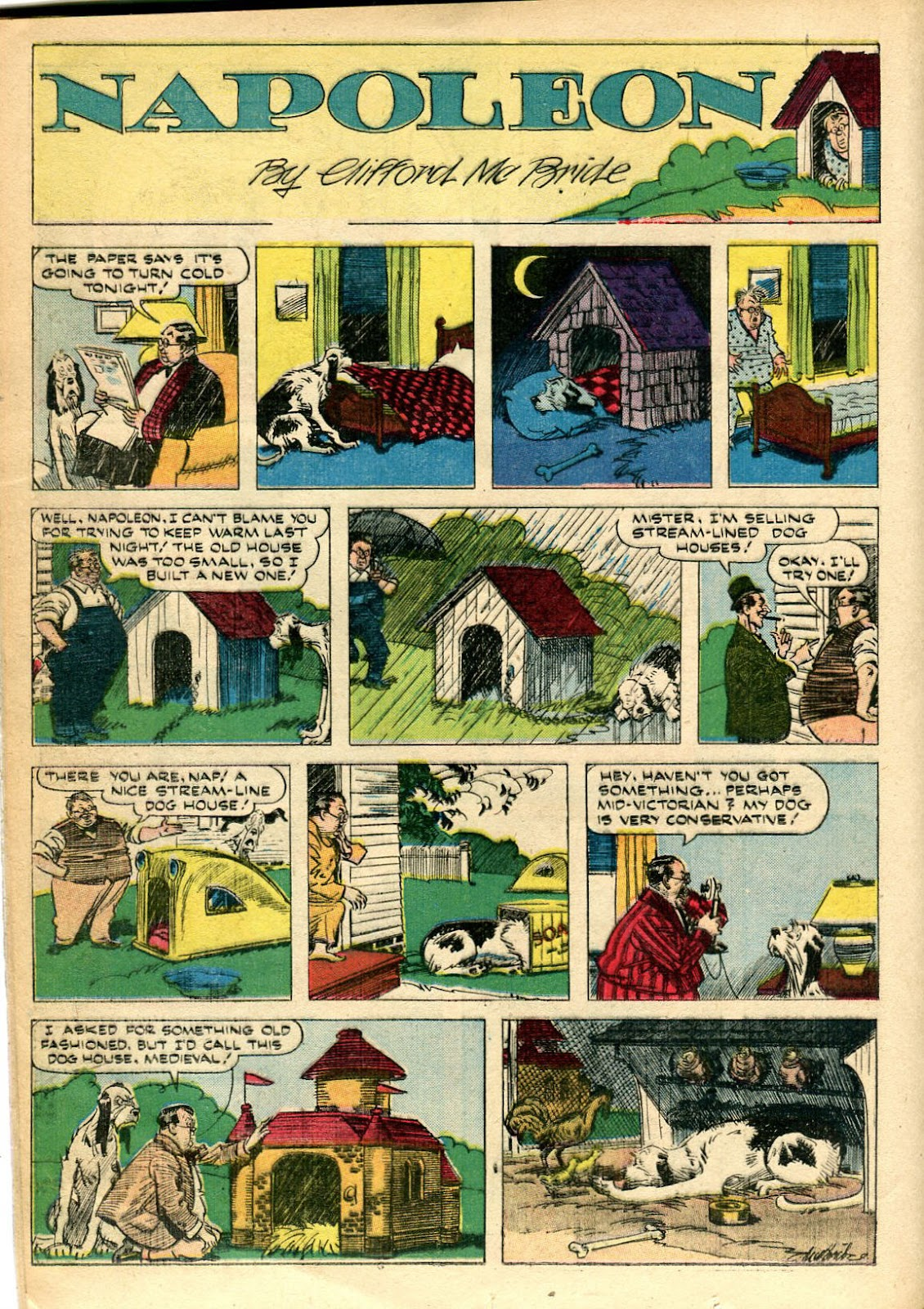 Read online Famous Funnies comic -  Issue #110 - 28