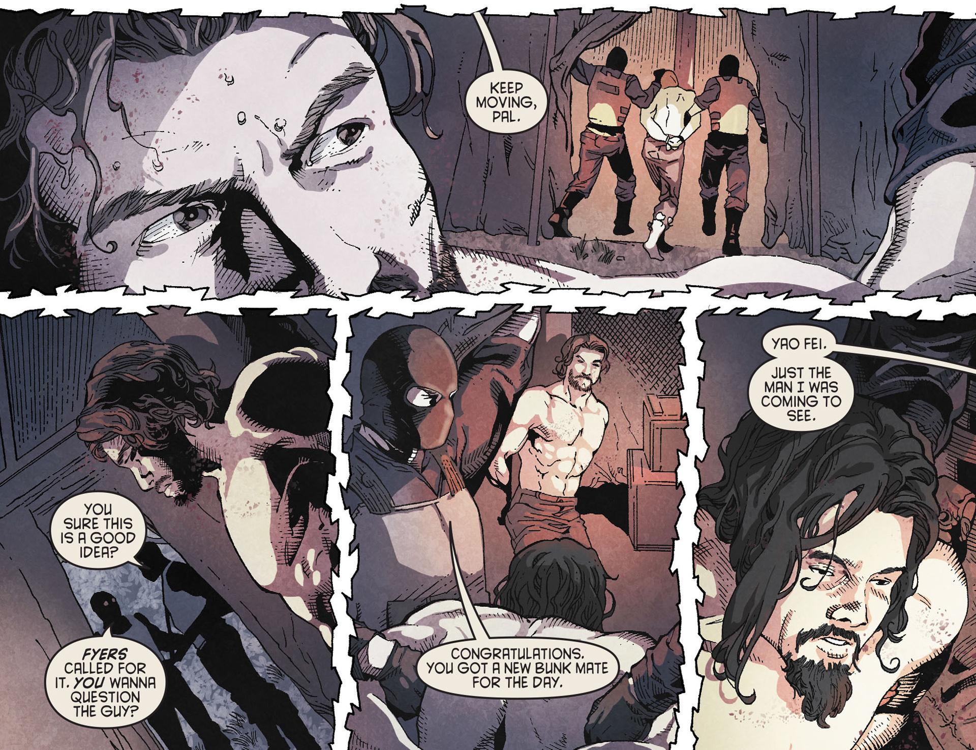 Read online Arrow [II] comic -  Issue #19 - 12