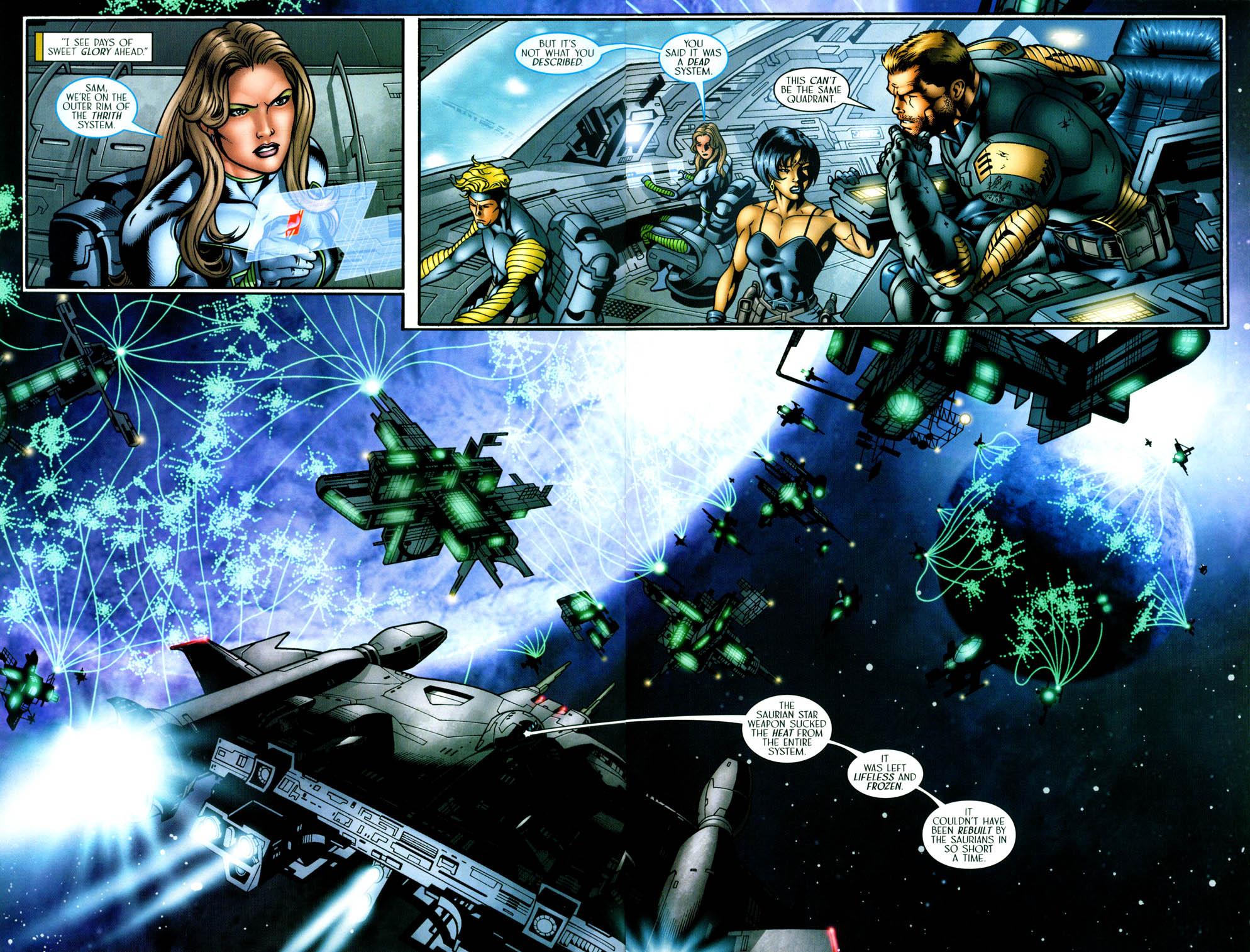 Read online Sigil (2000) comic -  Issue #36 - 17
