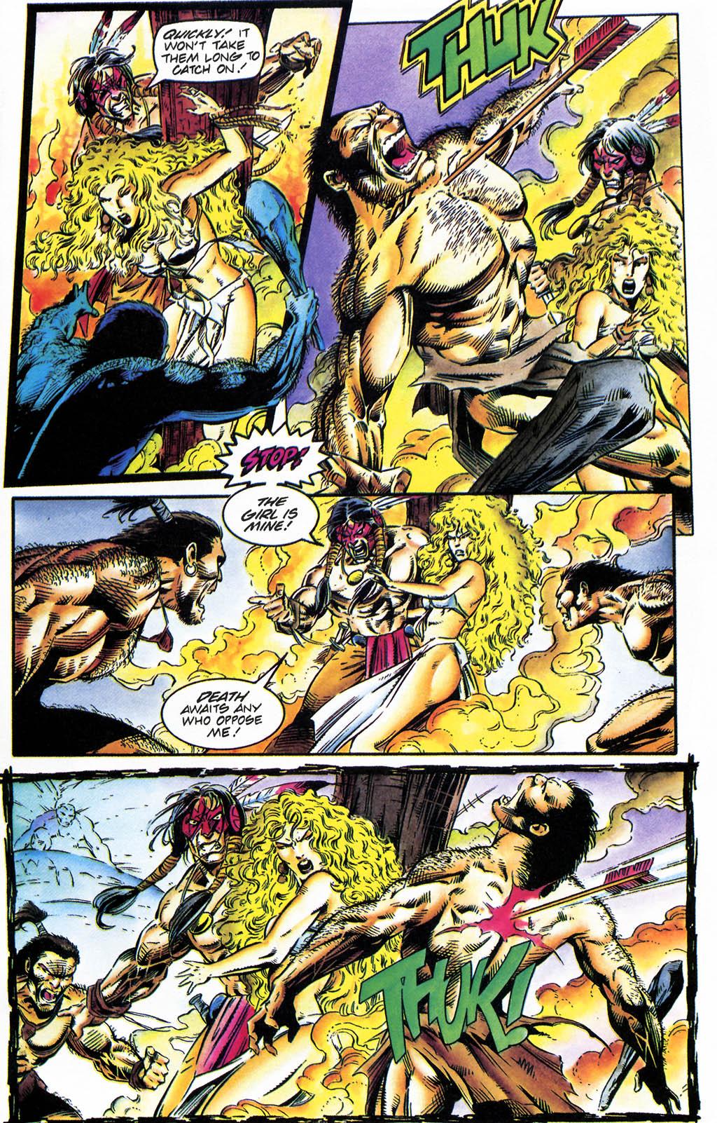 Read online Turok, Dinosaur Hunter (1993) comic -  Issue #35 - 5