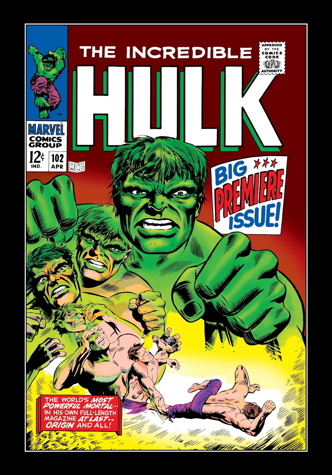 Read online Marvel Masterworks: The Incredible Hulk comic -  Issue # TPB 3 (Part 3) - 63