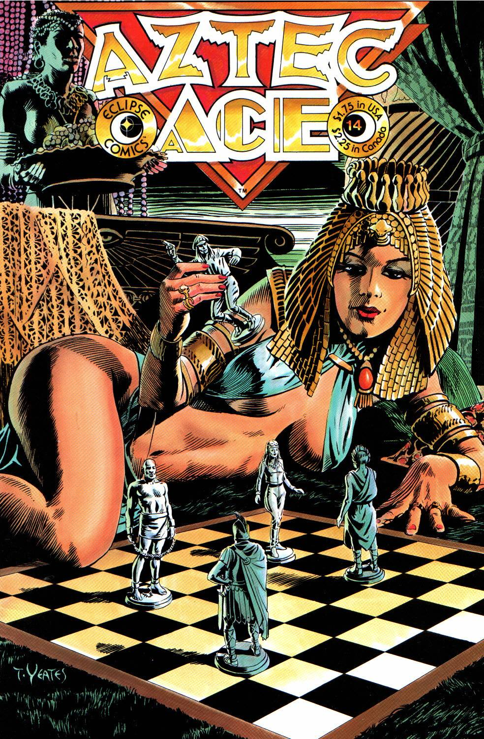 Read online Aztec Ace comic -  Issue #14 - 1