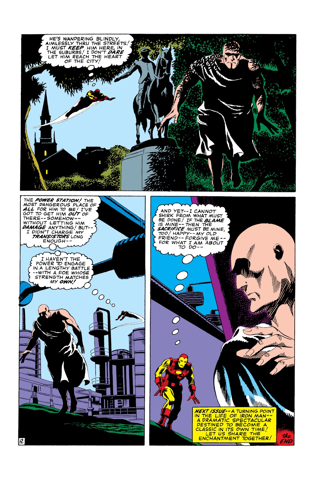 Read online Marvel Masterworks: The Invincible Iron Man comic -  Issue # TPB 3 (Part 2) - 99