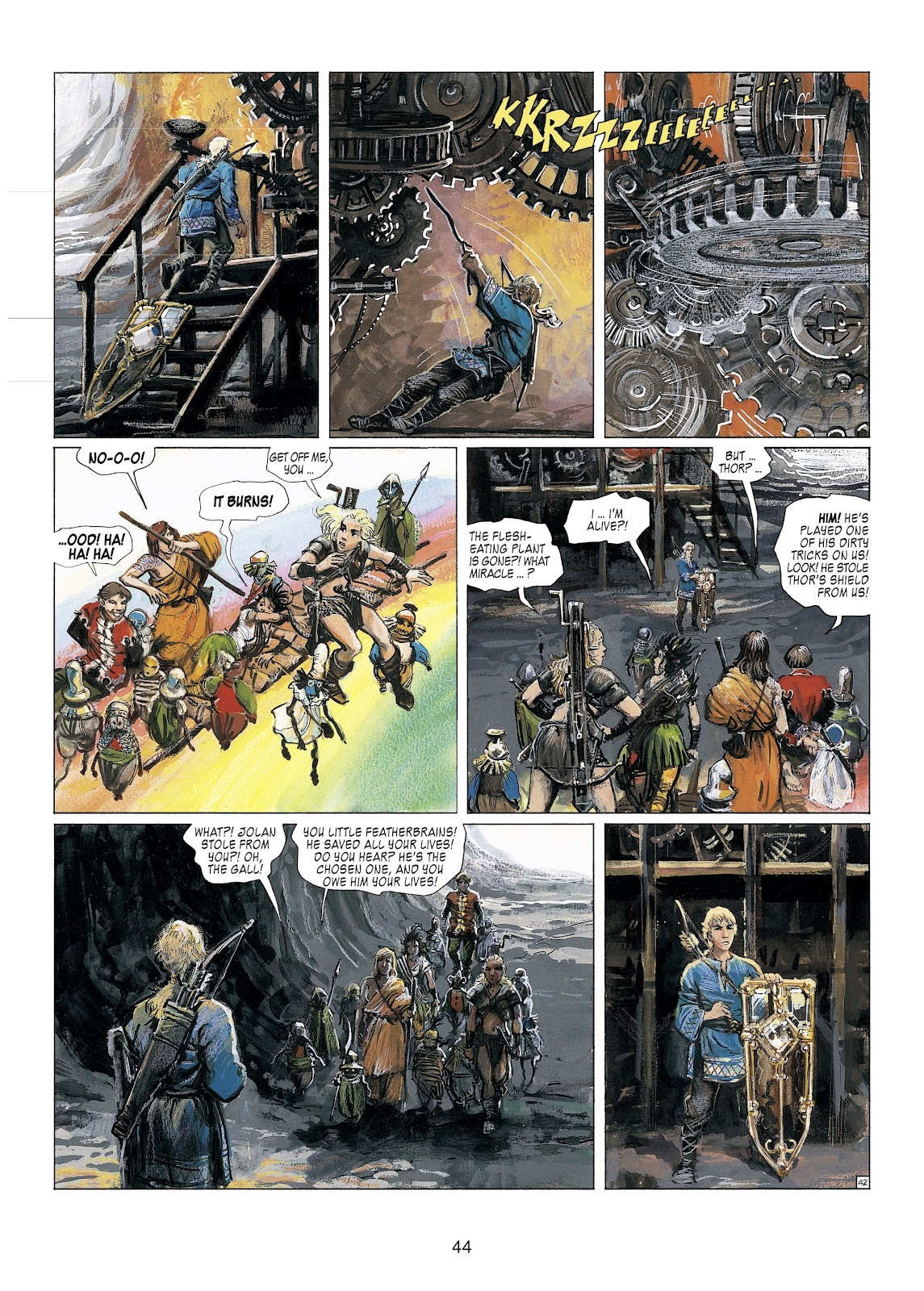 Read online Thorgal comic -  Issue #23 - 46