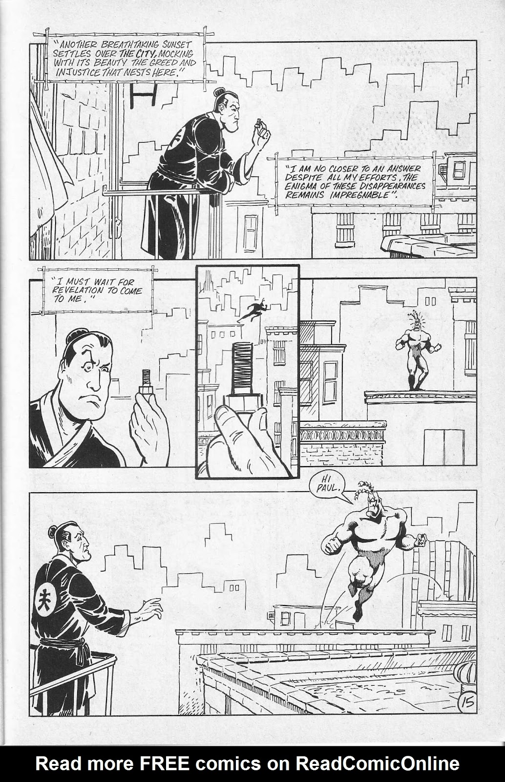 Read online Paul the Samurai (1991) comic -  Issue # TPB - 21