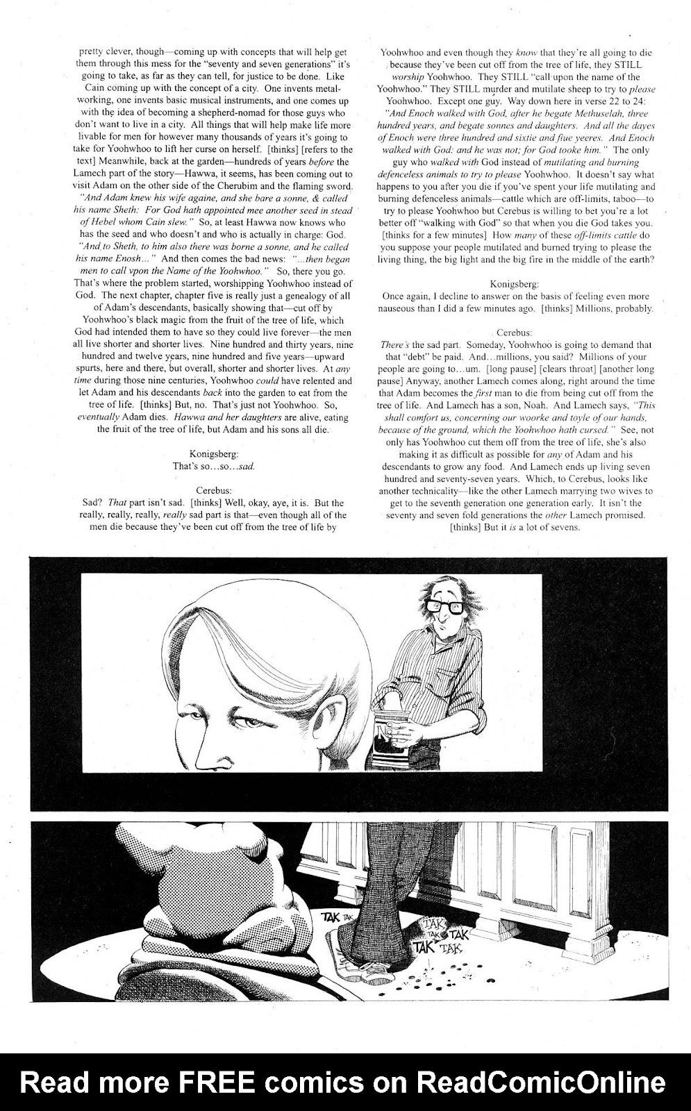 Cerebus Issue #281 #280 - English 17