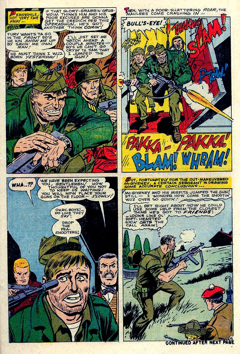 Read online Sgt. Fury comic -  Issue #84 - 21