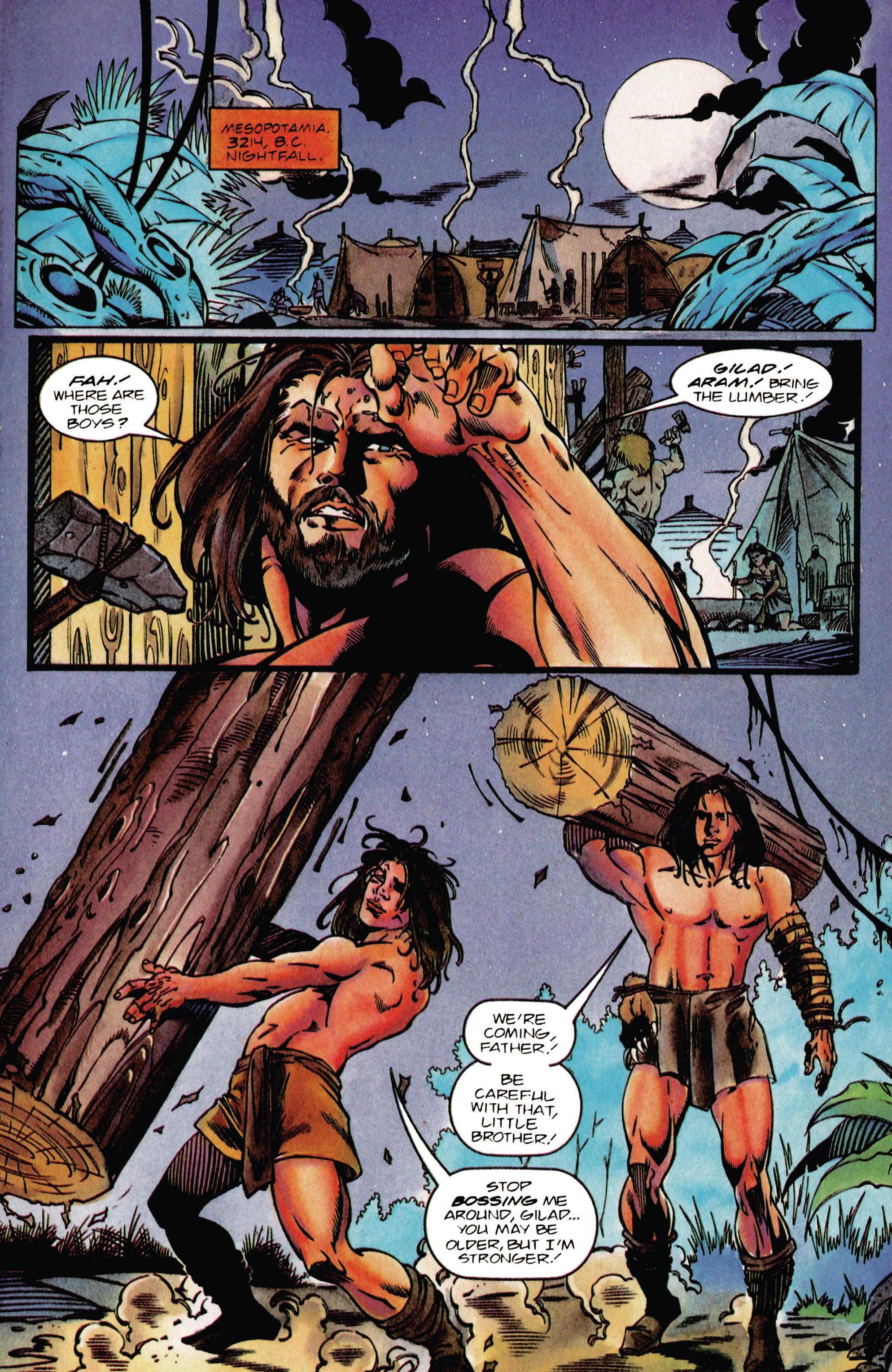 Read online Eternal Warrior (1992) comic -  Issue #37 - 7