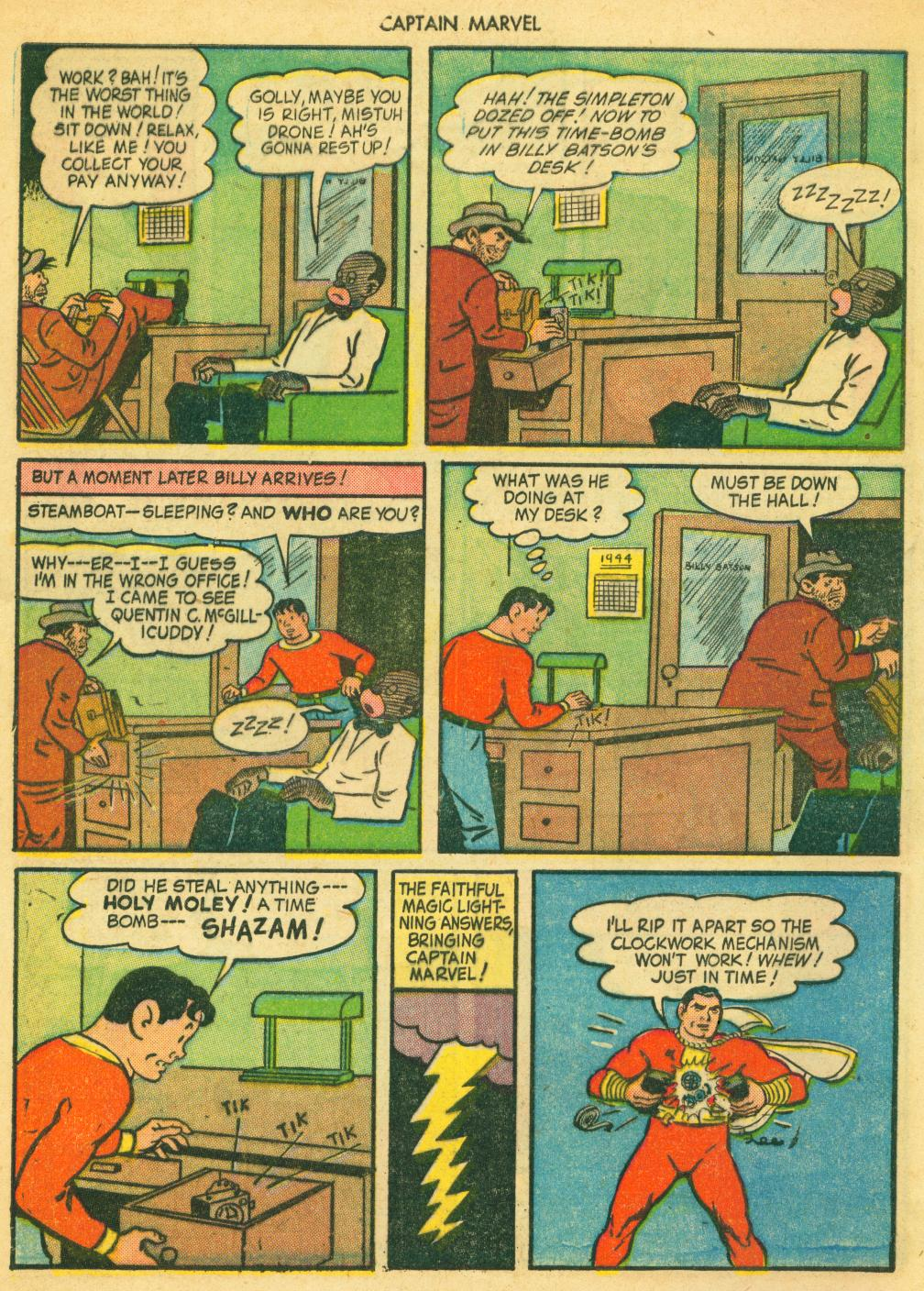 Captain Marvel Adventures issue 41 - Page 8