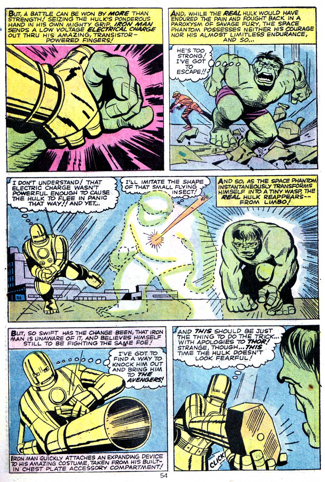 Giant-Size Avengers (1974) issue 3 - Page 56