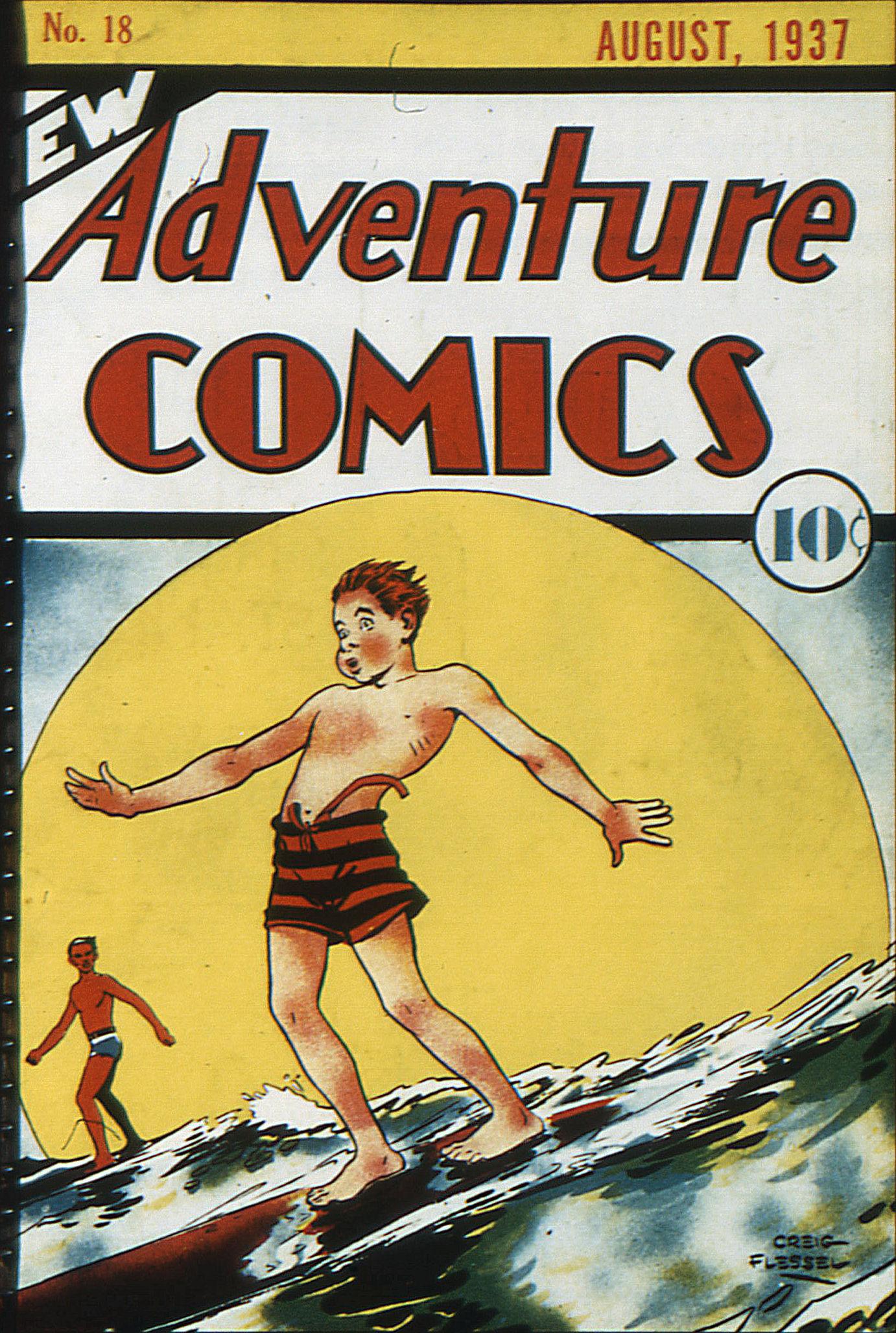Read online Adventure Comics (1938) comic -  Issue #18 - 1