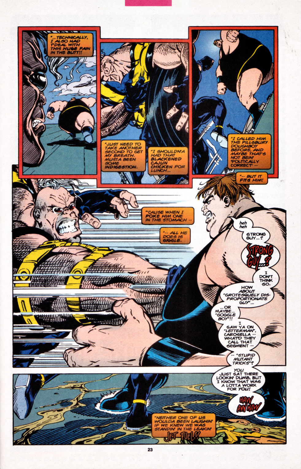 Read online X-Factor (1986) comic -  Issue #107 - 18