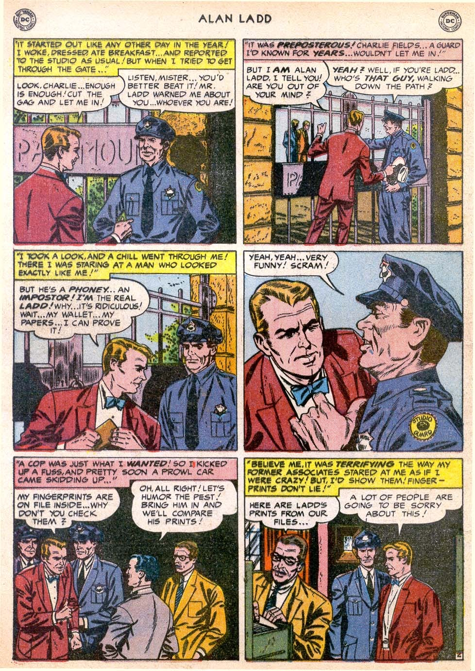 Adventures of Alan Ladd issue 4 - Page 4