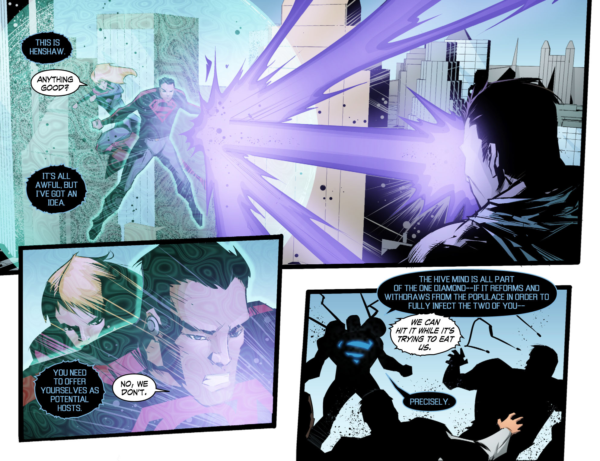 Read online Smallville: Chaos [II] comic -  Issue #10 - 13