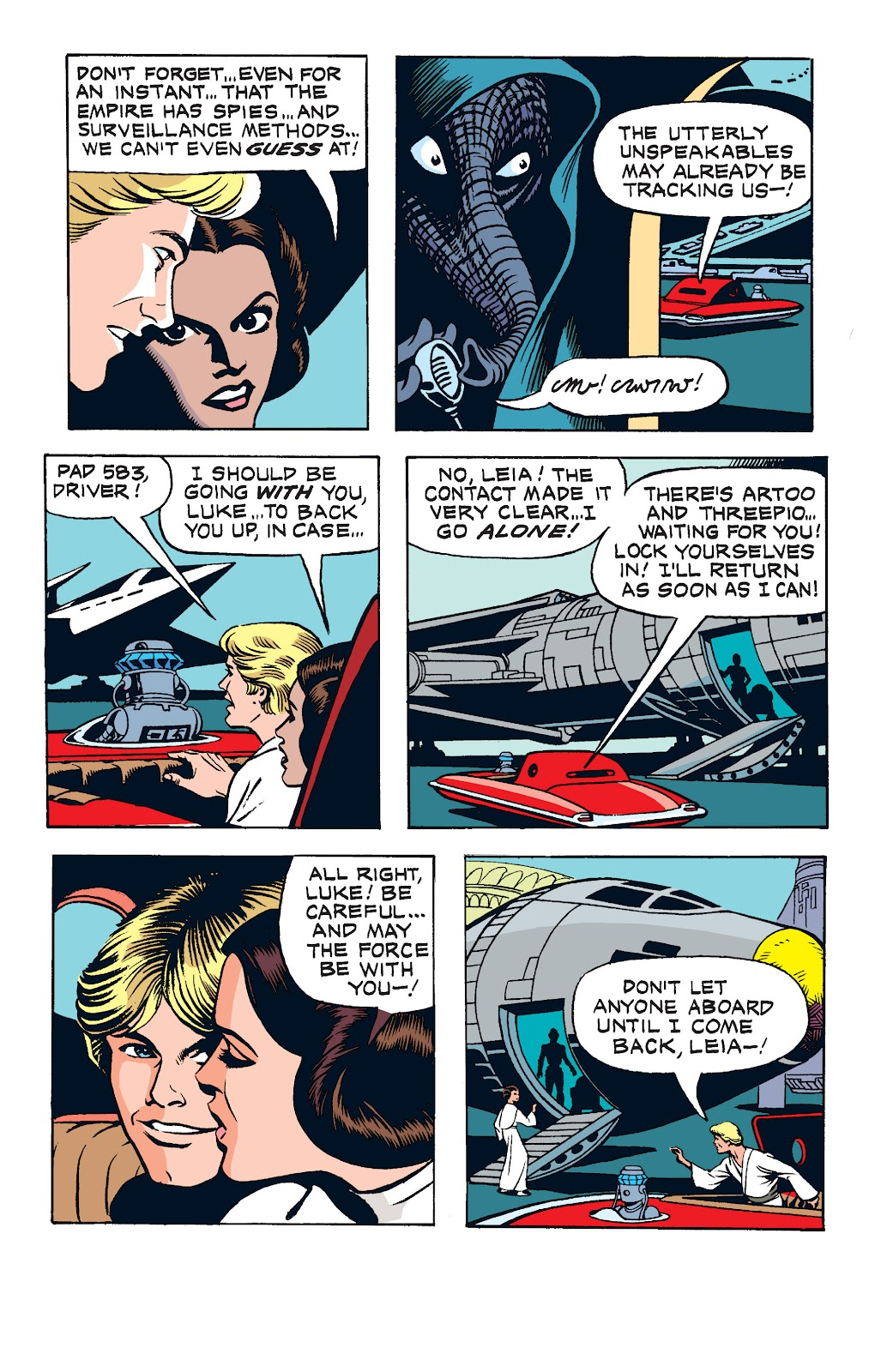 Read online Star Wars Legends: The Newspaper Strips - Epic Collection comic -  Issue # TPB (Part 1) - 96