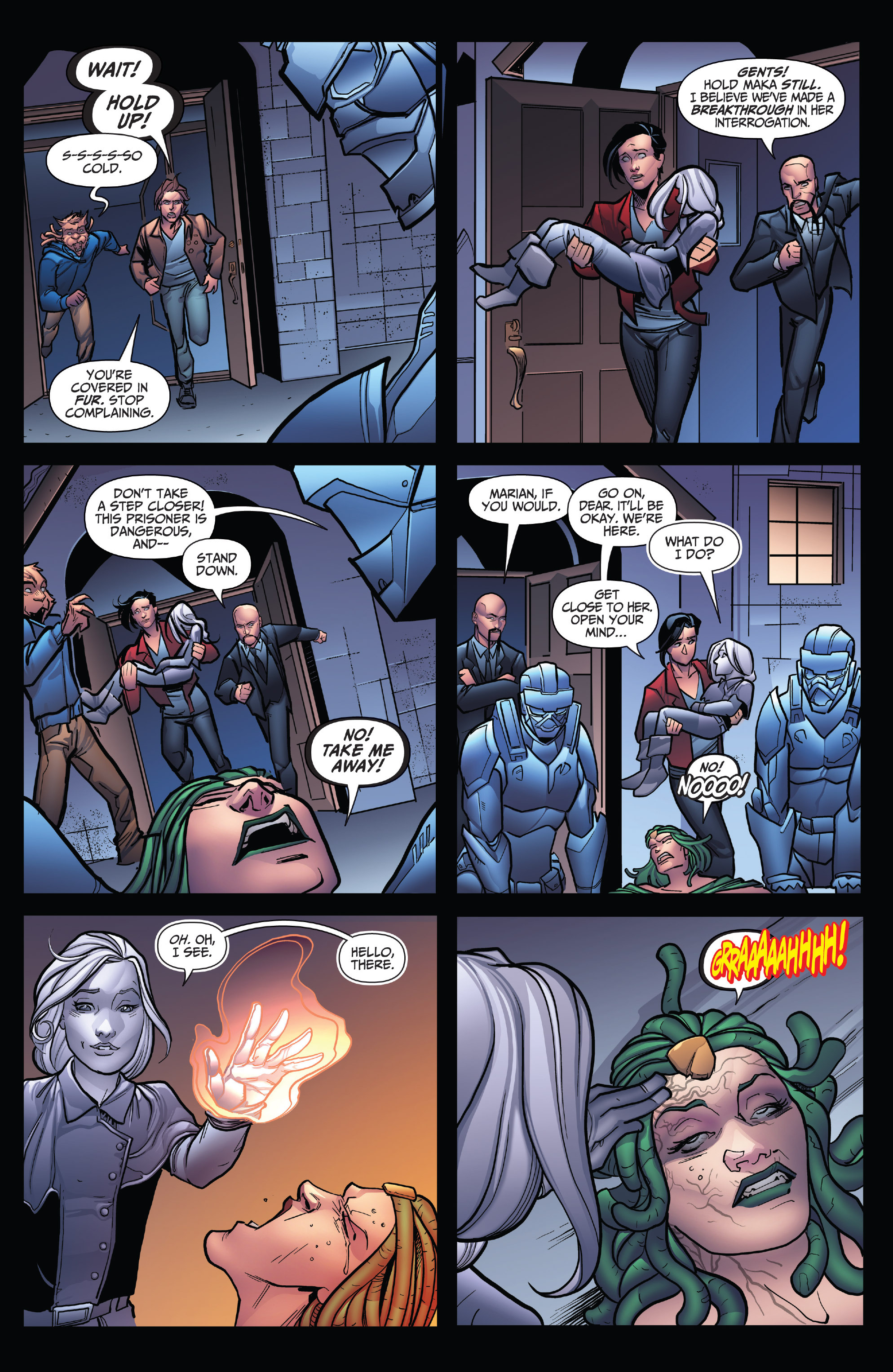 Read online Grimm Fairy Tales: Arcane Acre comic -  Issue # TPB 4 - 15