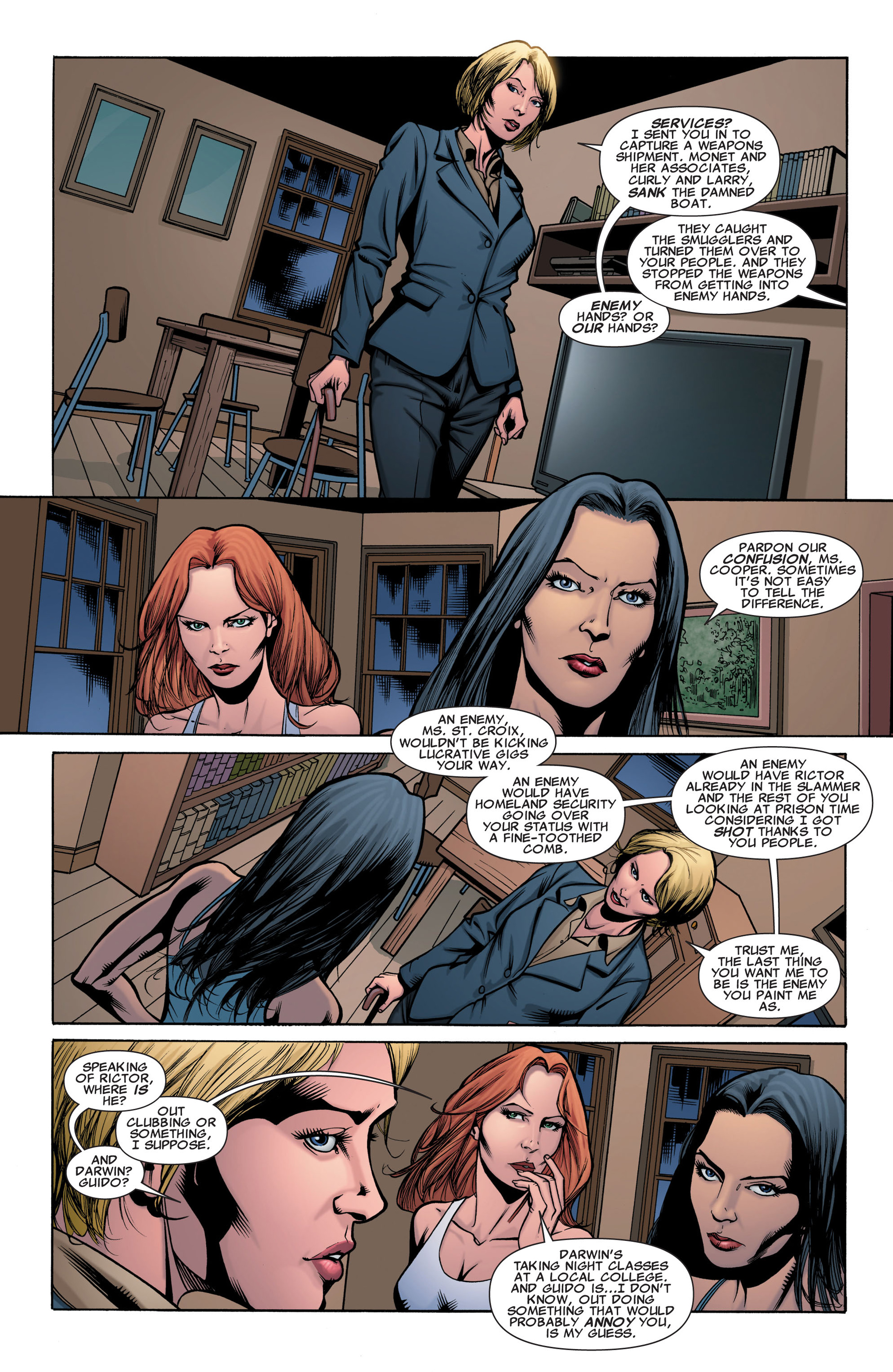Read online X-Factor (2006) comic -  Issue #42 - 13